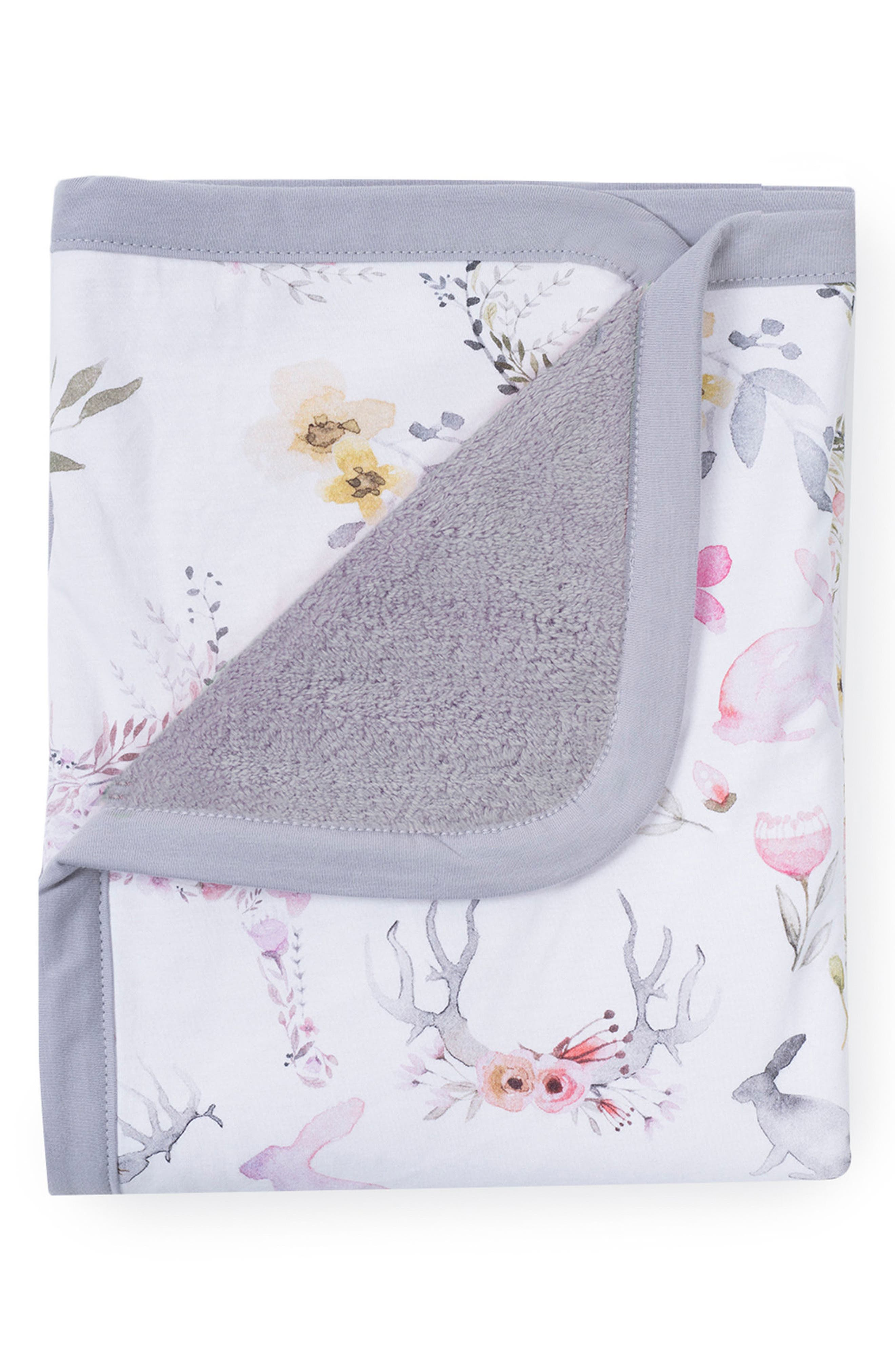 OILO, Fawn Cuddle Blanket, Main thumbnail 1, color, FAWN