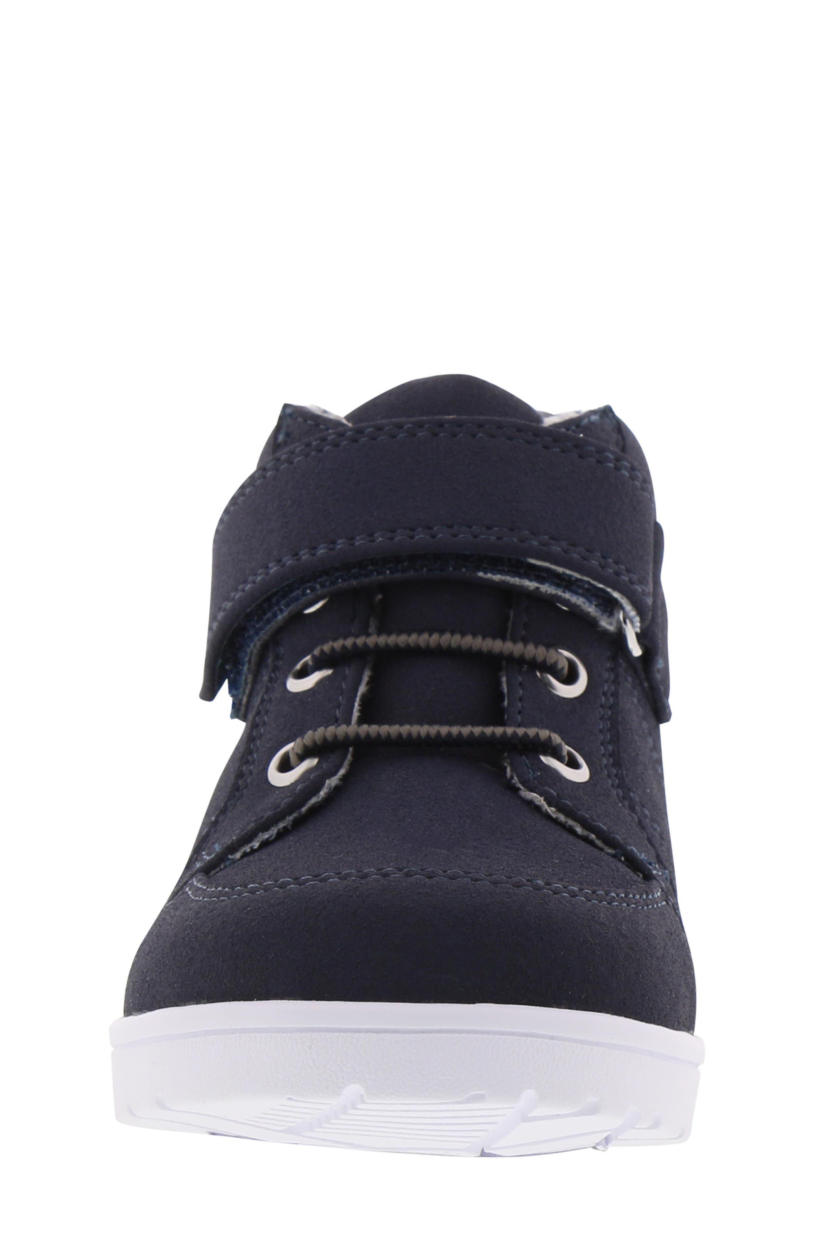 BØRN, Bailey Levi Sneaker, Alternate thumbnail 4, color, NAVY