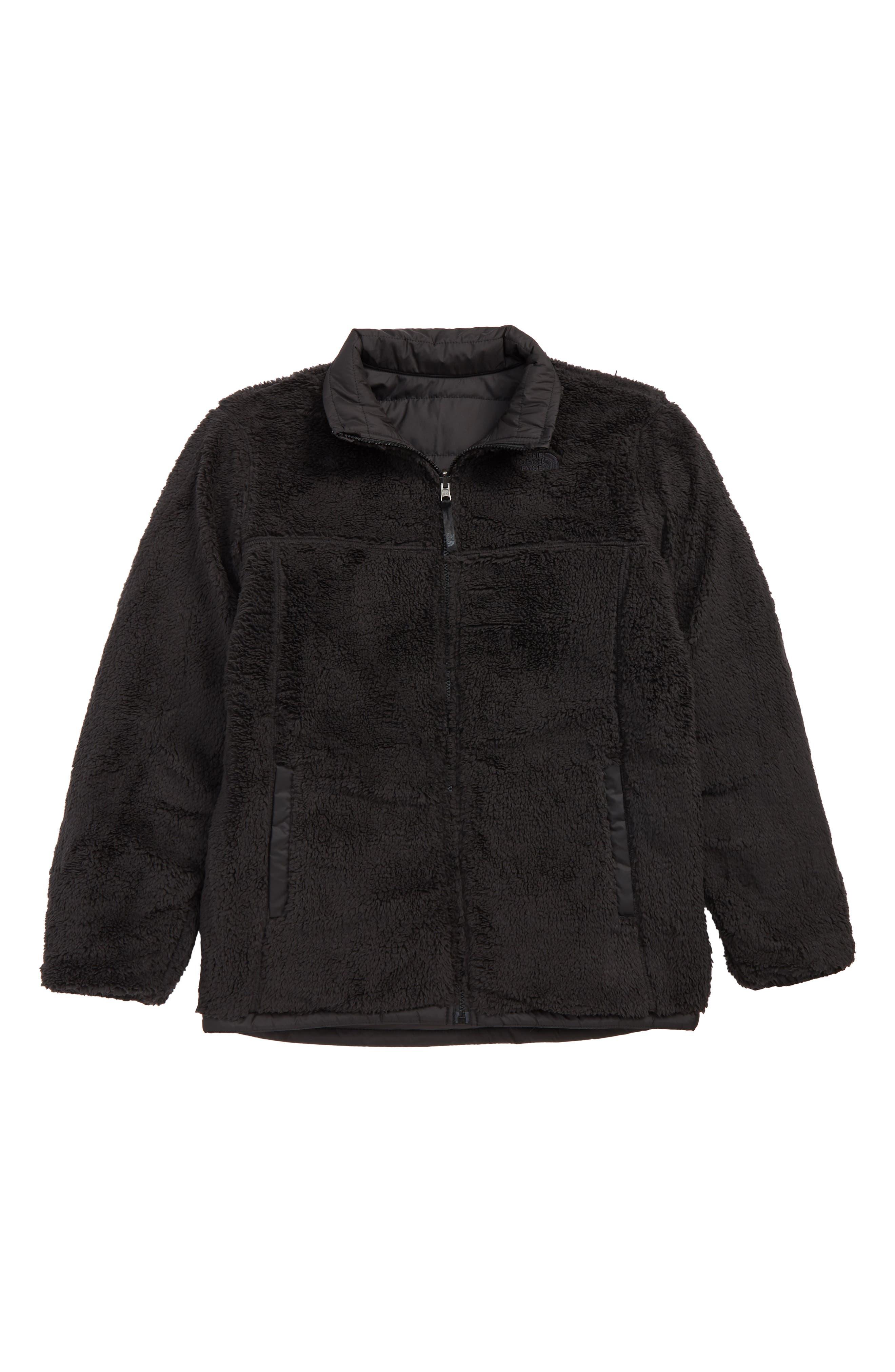 THE NORTH FACE, Mount Chimborazo Reversible Jacket, Alternate thumbnail 2, color, TNF BLACK/ TNF BLACK
