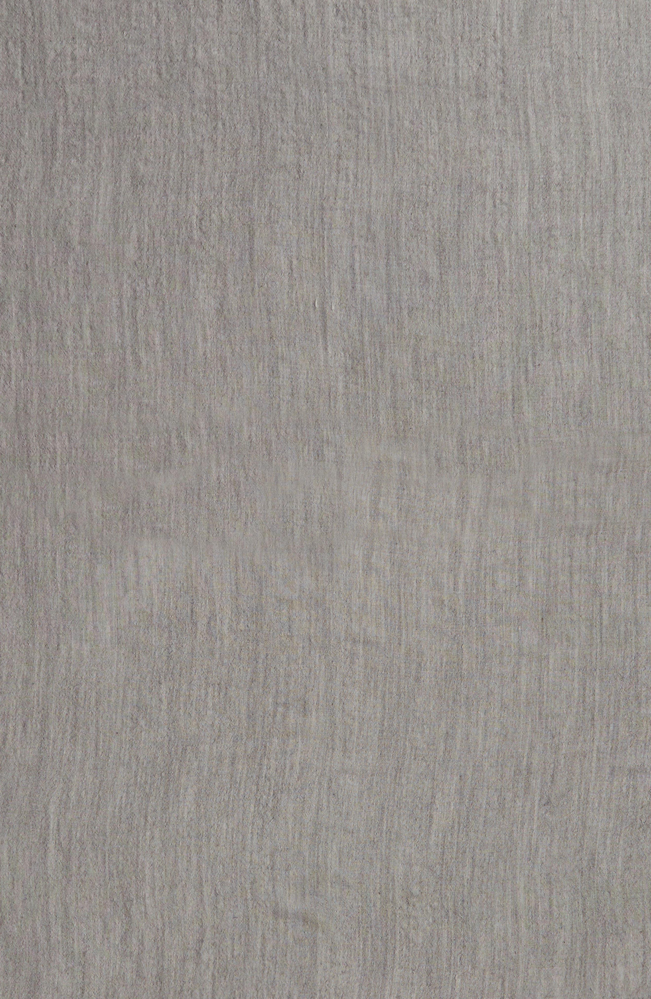 TREASURE & BOND, Lightweight Cross Dyed Scarf, Alternate thumbnail 4, color, 020