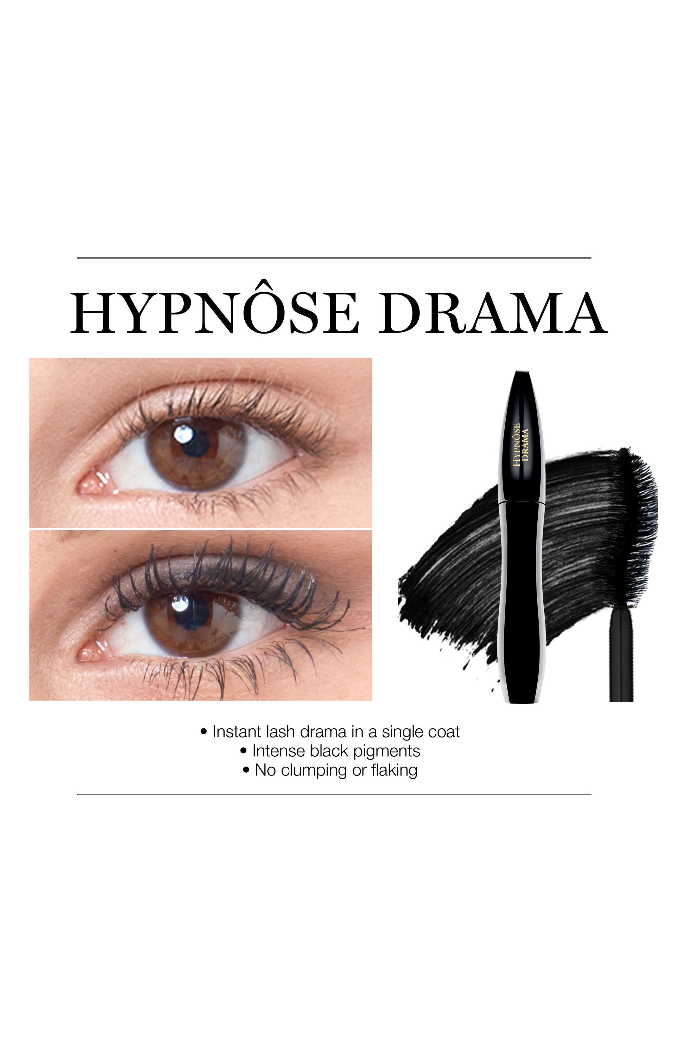LANCÔME, Hypnôse Drama Instant Full Volume Mascara, Alternate thumbnail 3, color, EXCESS BLK