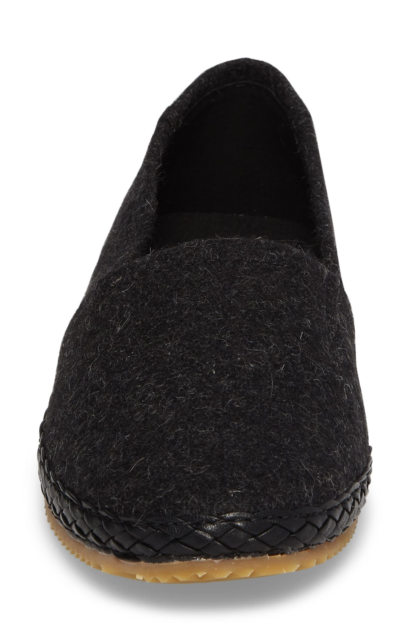 AETREX, Kylie Slip-On, Alternate thumbnail 4, color, BLACK FABRIC