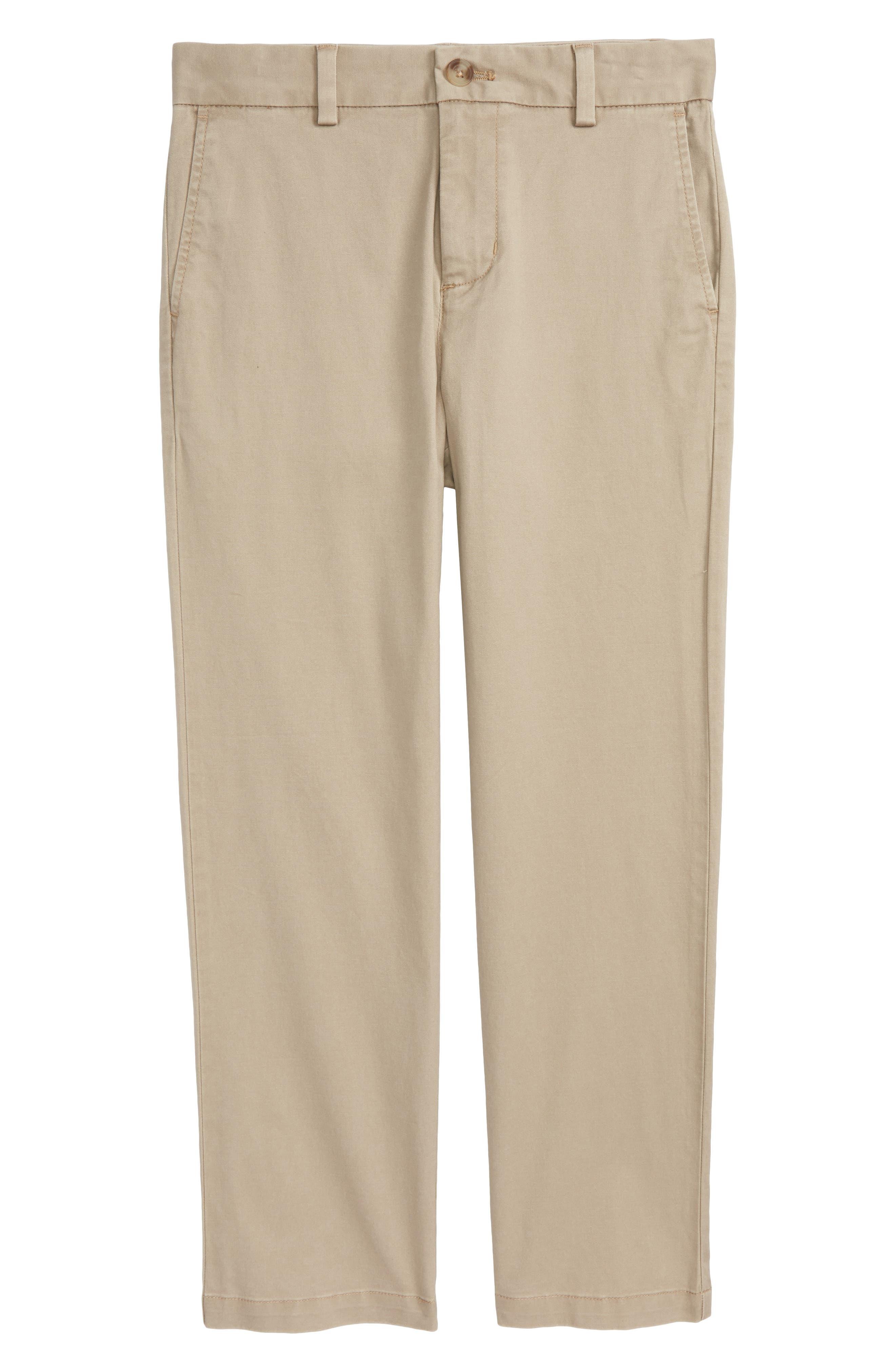VINEYARD VINES Stretch Breaker Pants, Main, color, KHAKI