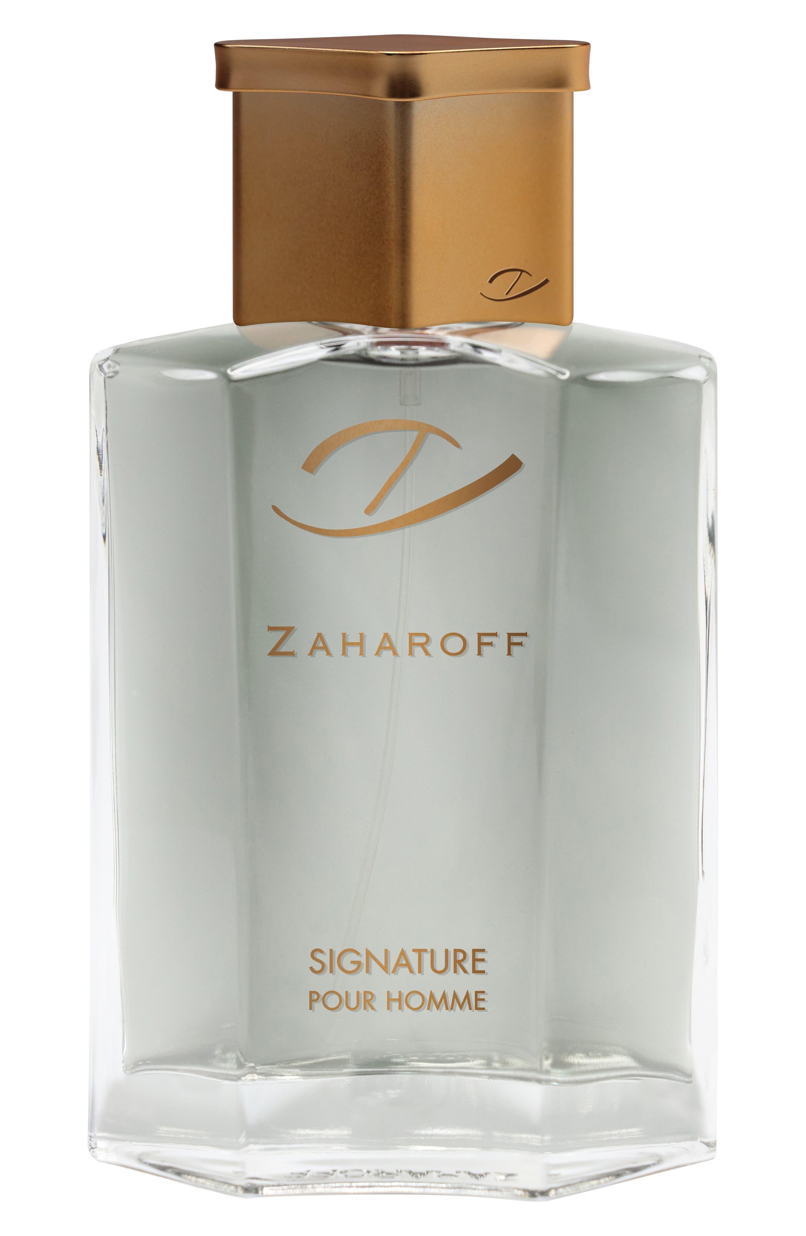 ZAHAROFF, Signature Pour Homme Cologne, Main thumbnail 1, color, NO COLOR