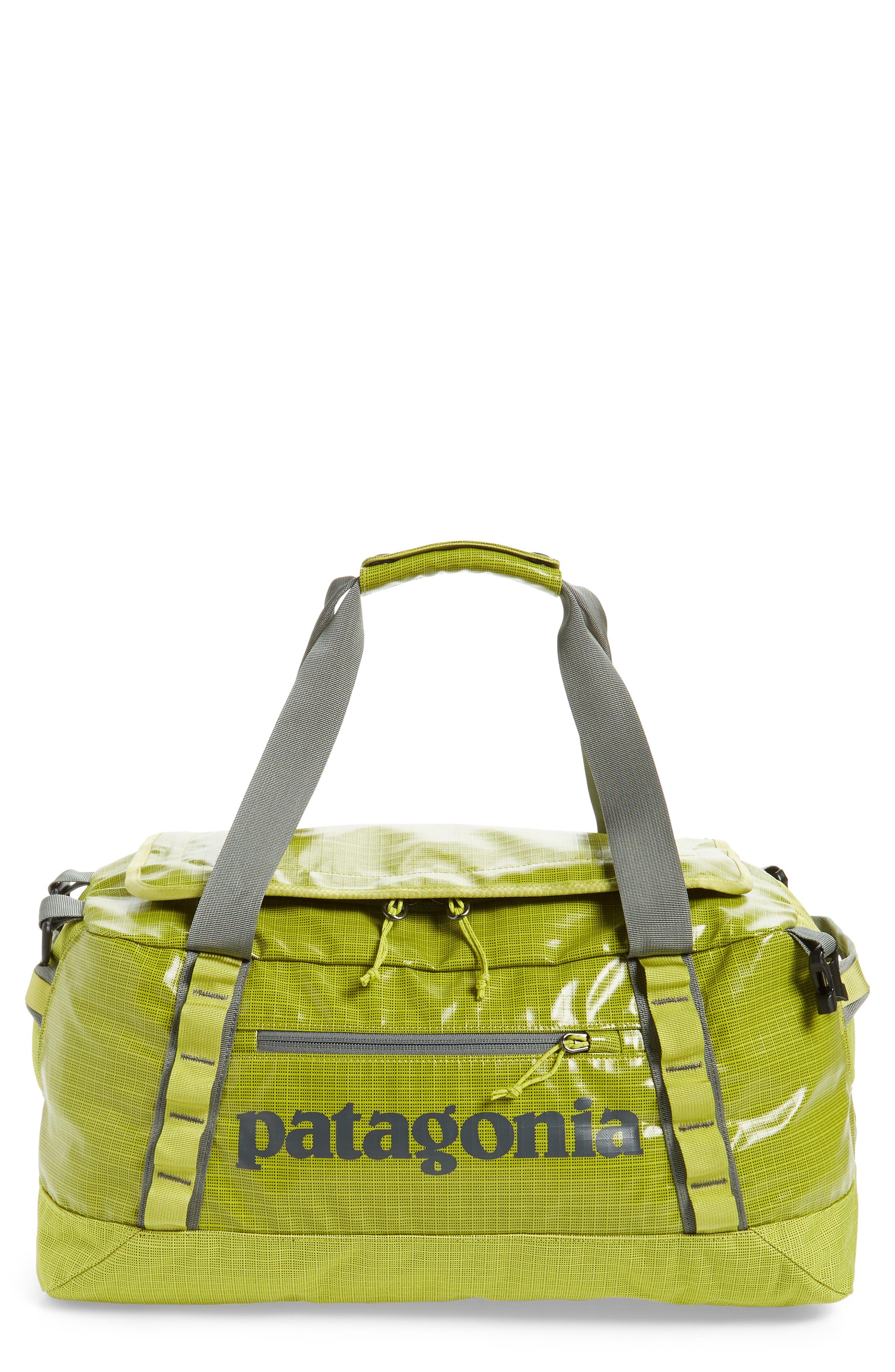 PATAGONIA, Black Hole Water Repellent 45-Liter Duffel Bag, Main thumbnail 1, color, FOLIOS GREEN