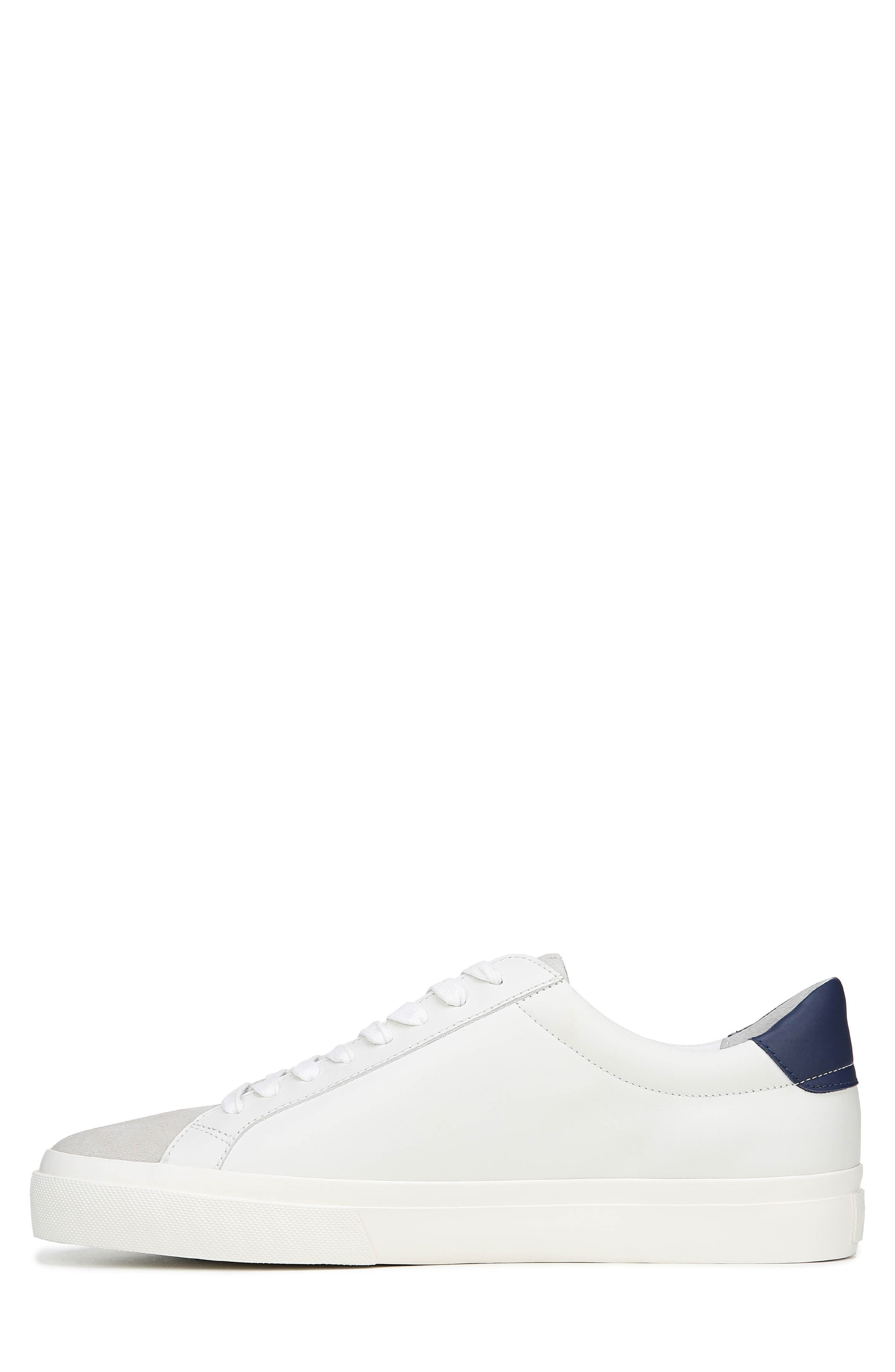 VINCE, Fulton Sneaker, Alternate thumbnail 9, color, WHITE