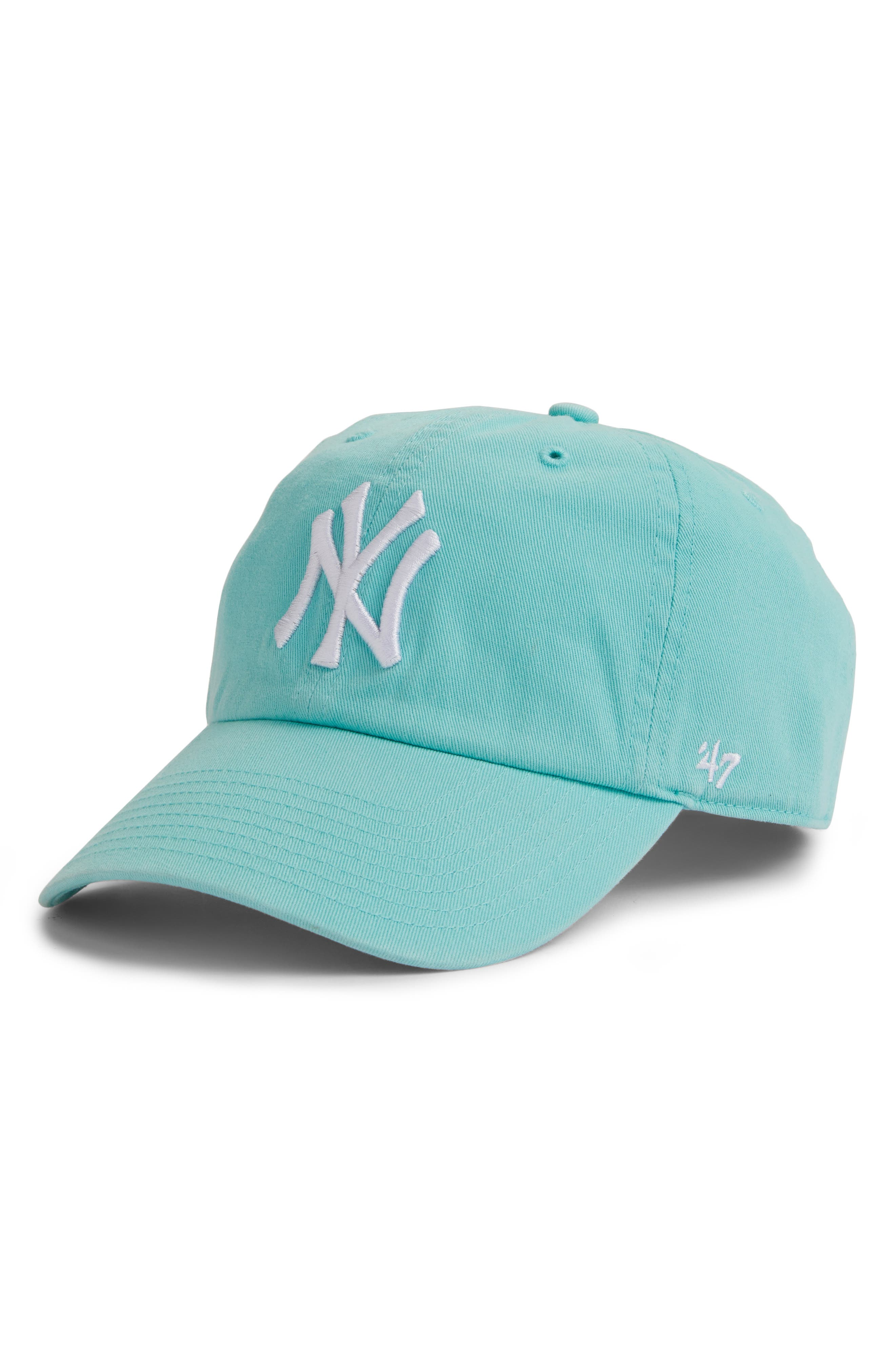 '47, Clean Up Yankees Baseball Cap, Main thumbnail 1, color, 450