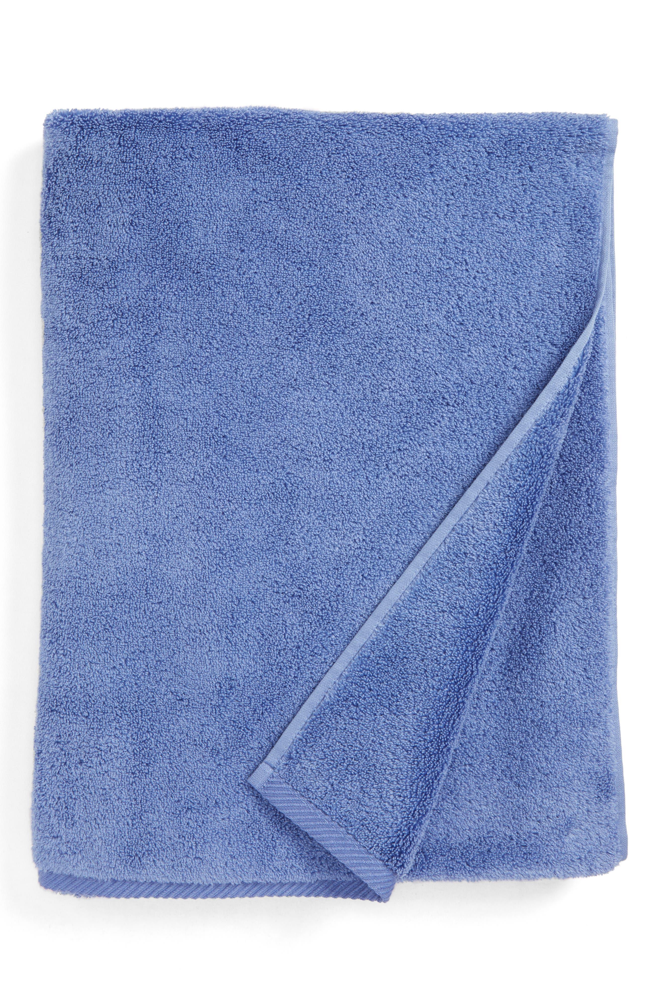 MATOUK Milagro Bath Towel, Main, color, PERIWINKLE
