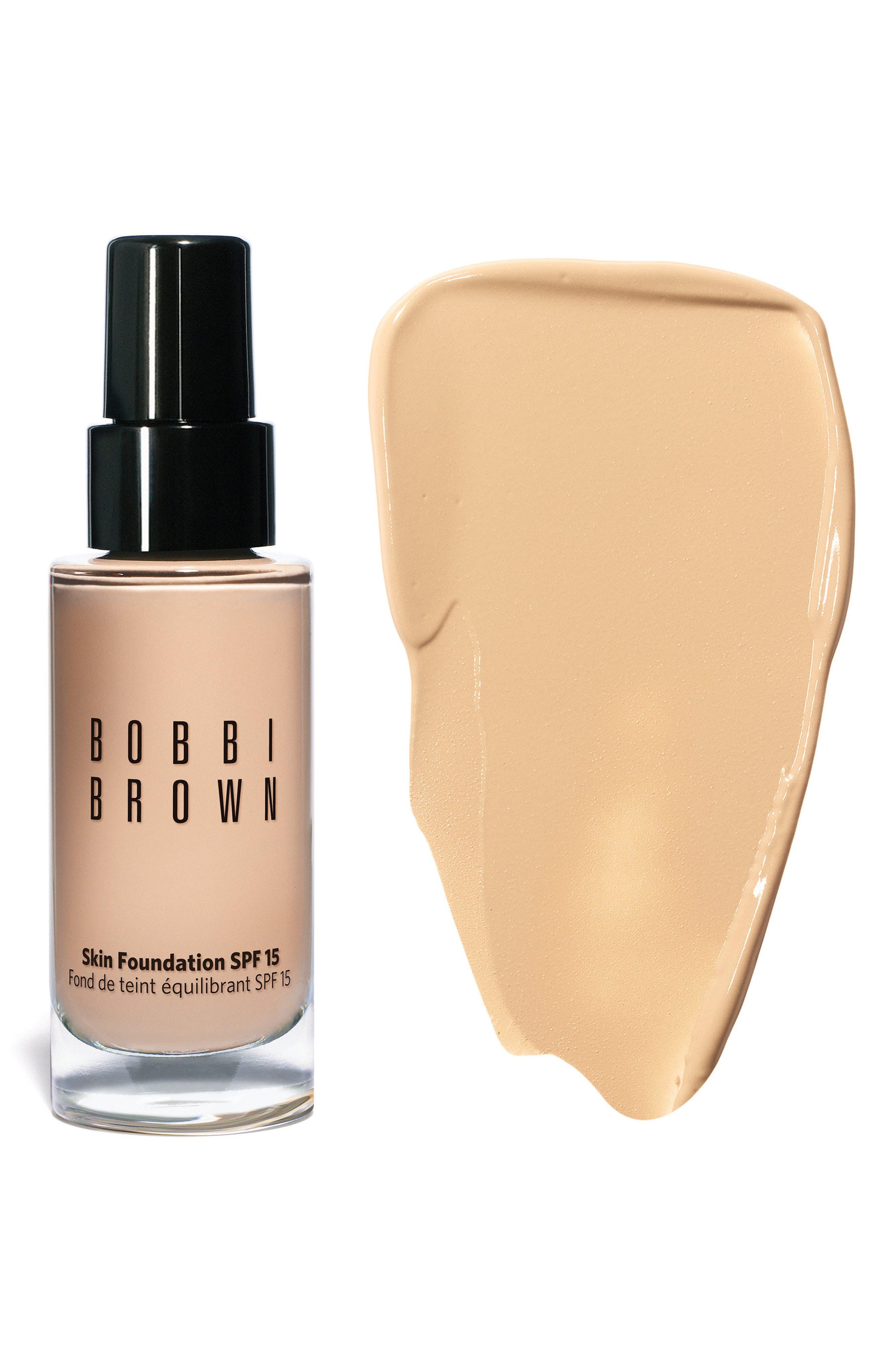BOBBI BROWN, Skin Foundation SPF 15, Alternate thumbnail 4, color, #.00 ALABASTER