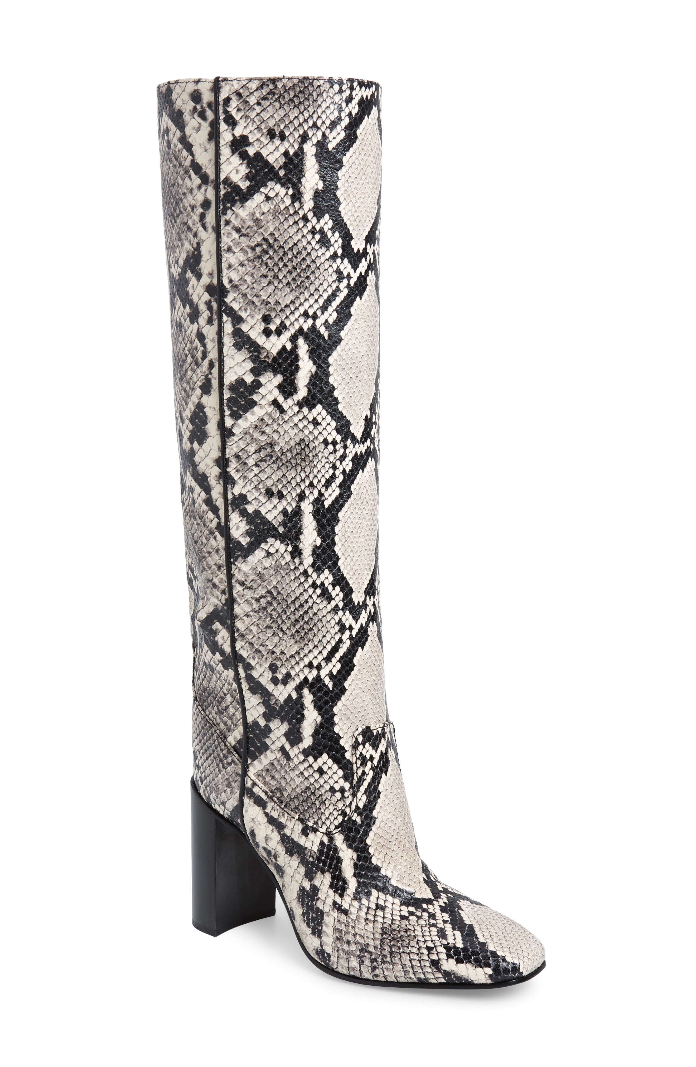 Rag & Bone Aslen Tall Boot, Black