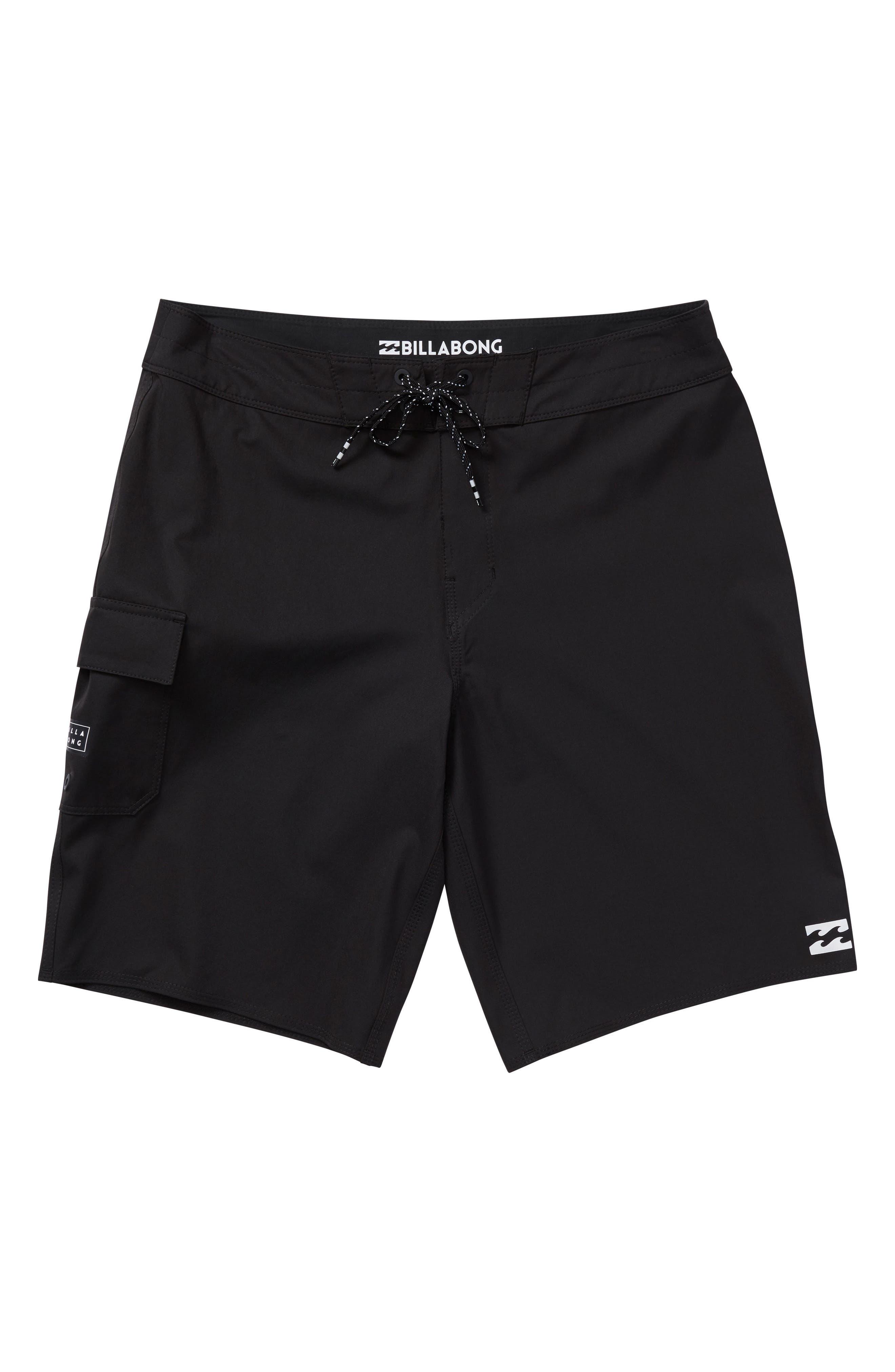BILLABONG, All Day X Board Shorts, Main thumbnail 1, color, 001