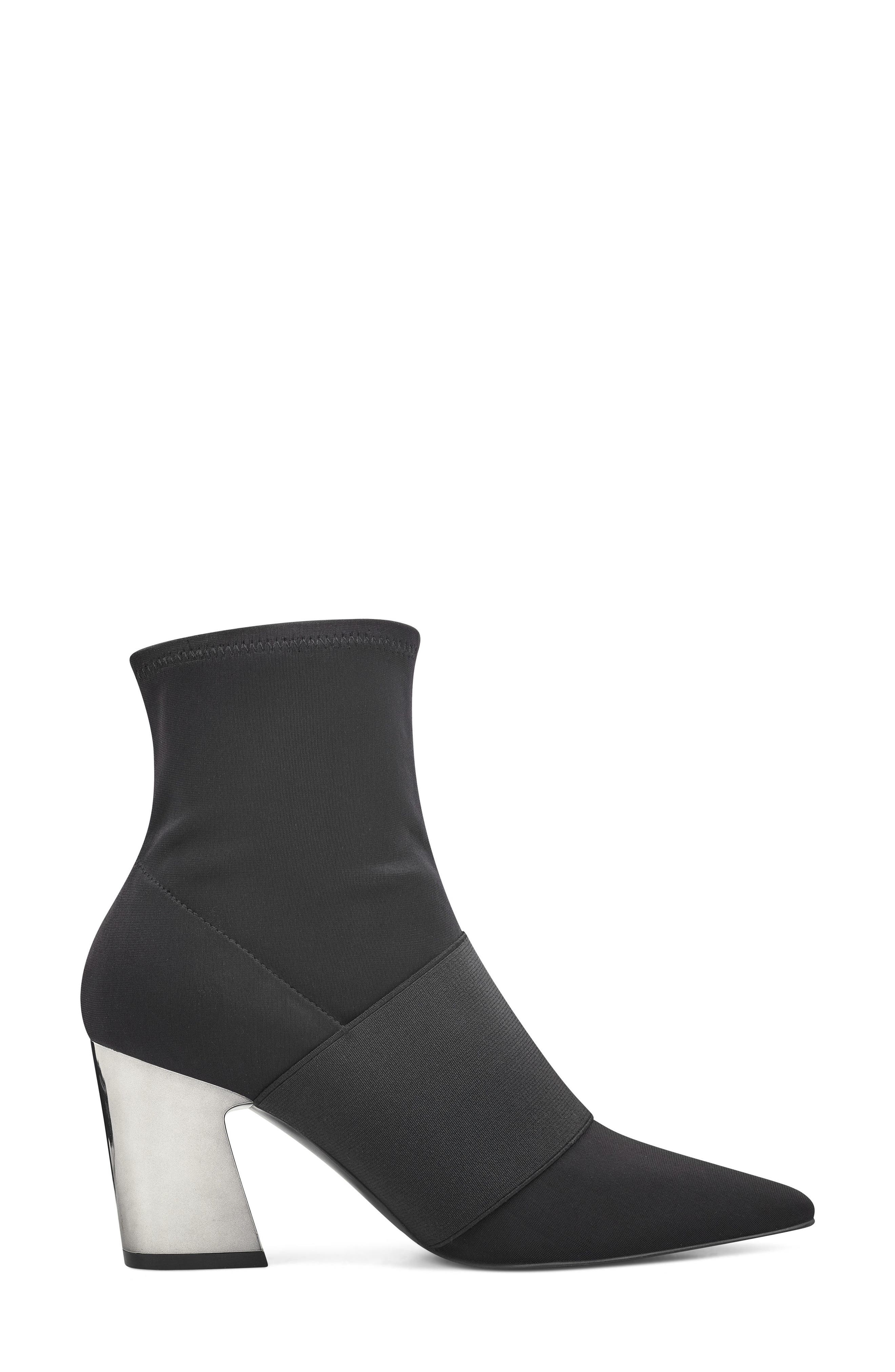 NINE WEST, Delayna Boot, Alternate thumbnail 3, color, 001