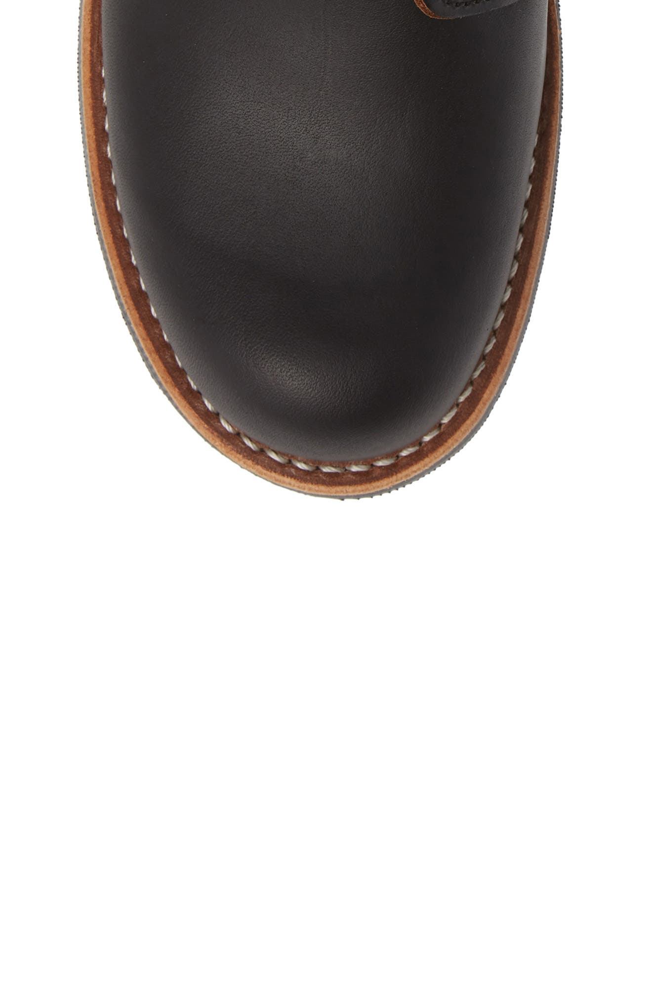 RED WING, Blacksmith Boot, Alternate thumbnail 5, color, BLACK LEATHER