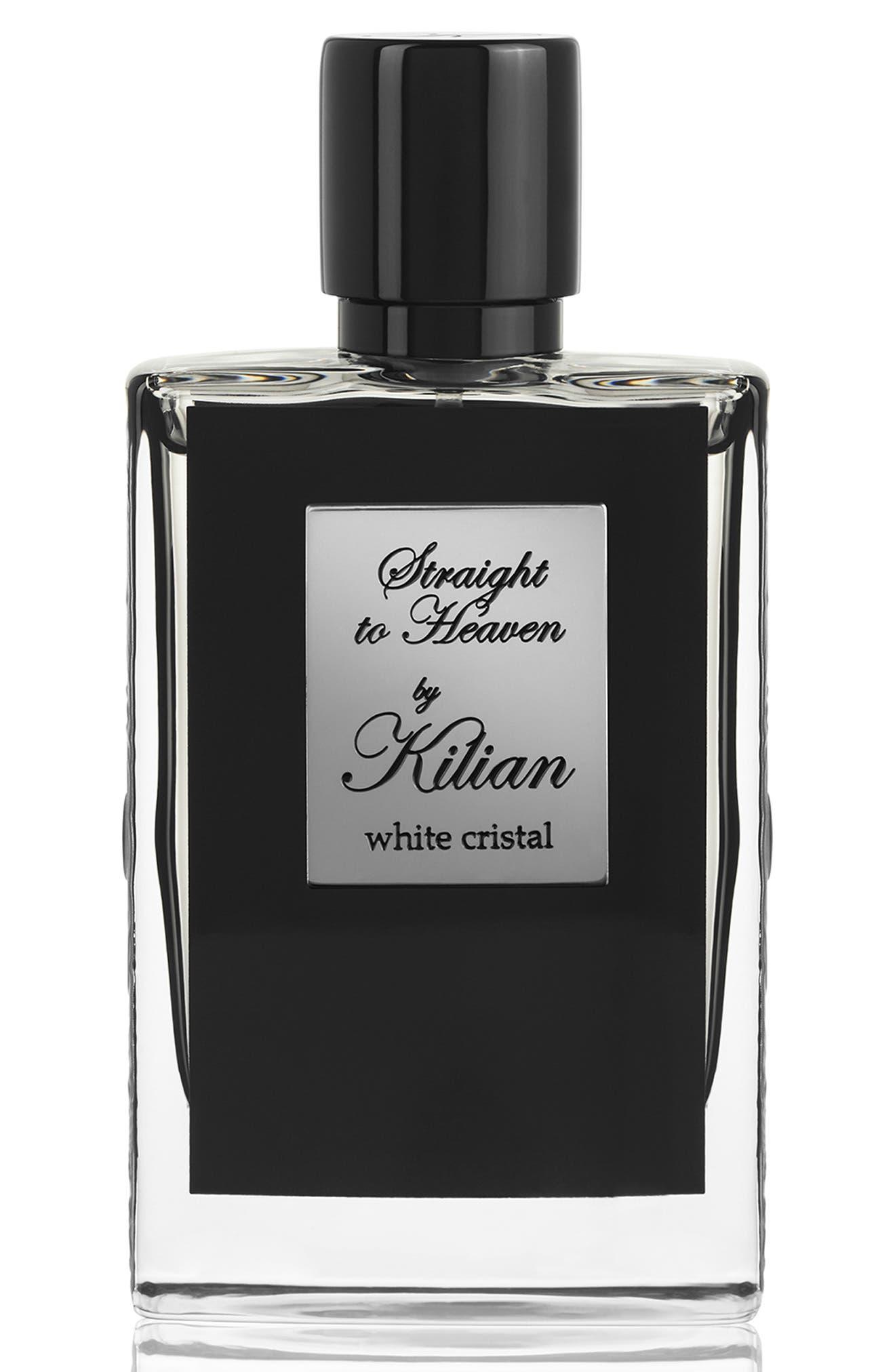 KILIAN, 'L'Oeuvre Noire - Straight to Heaven, white cristal' Refillable Fragrance Spray, Main thumbnail 1, color, NO COLOR