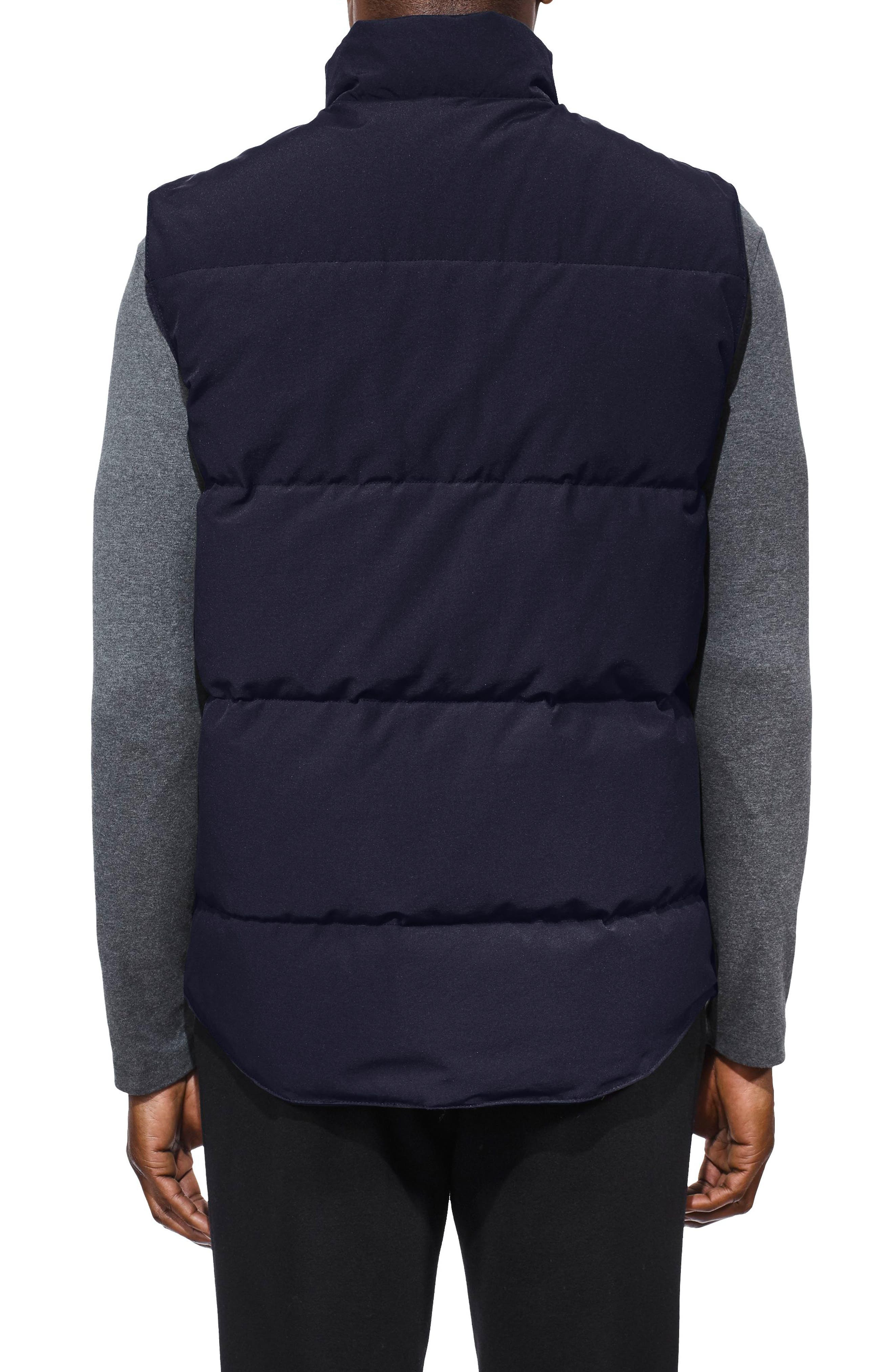 CANADA GOOSE, Freestyle Regular Fit Down Vest, Alternate thumbnail 2, color, ADMIRAL BLUE