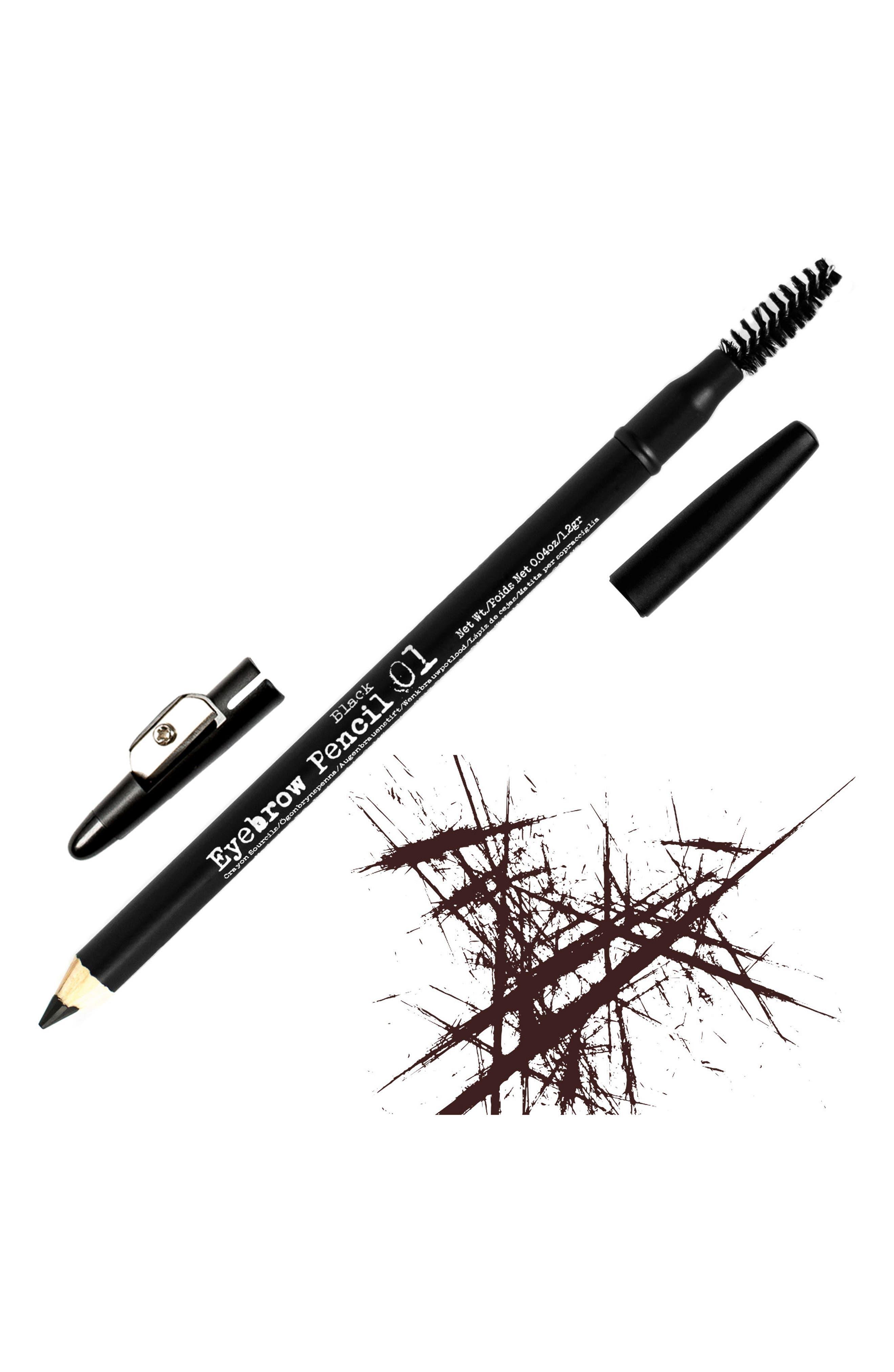 THE BROWGAL, Eyebrow Pencil, Main thumbnail 1, color, 01 BLACK