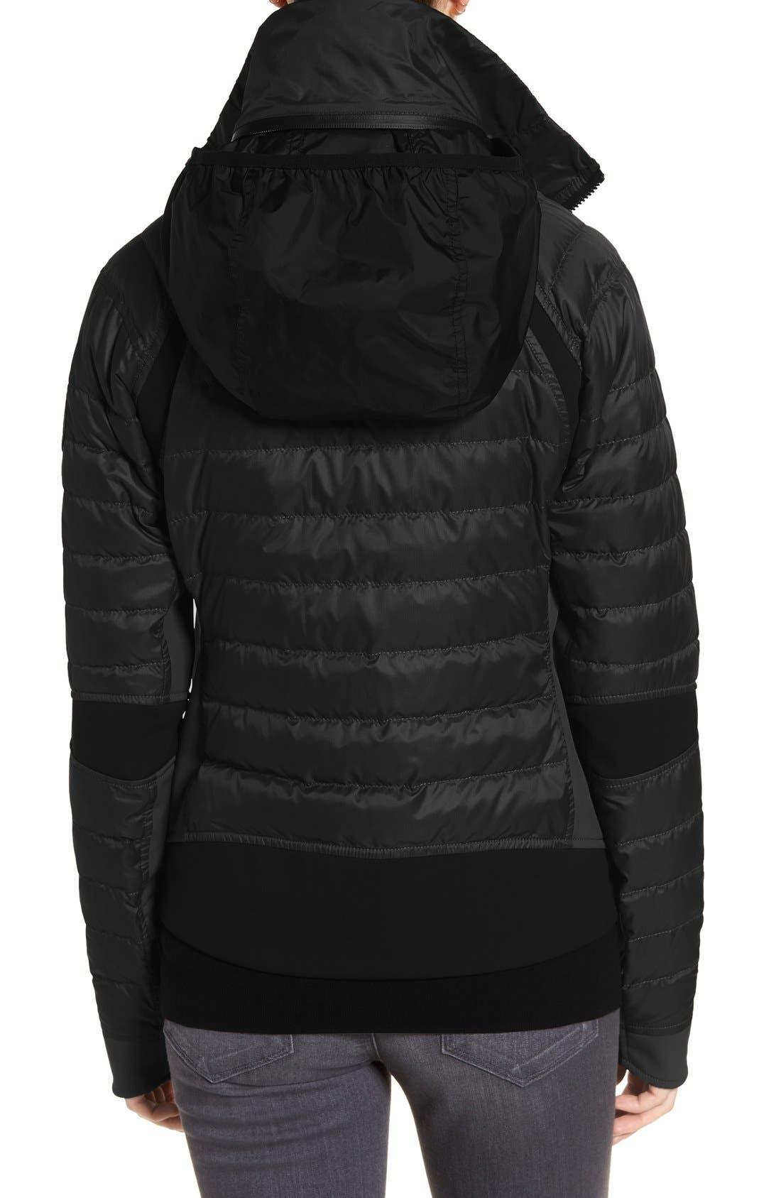 CANADA GOOSE, Hybridge Perren Jacket, Alternate thumbnail 5, color, BLACK