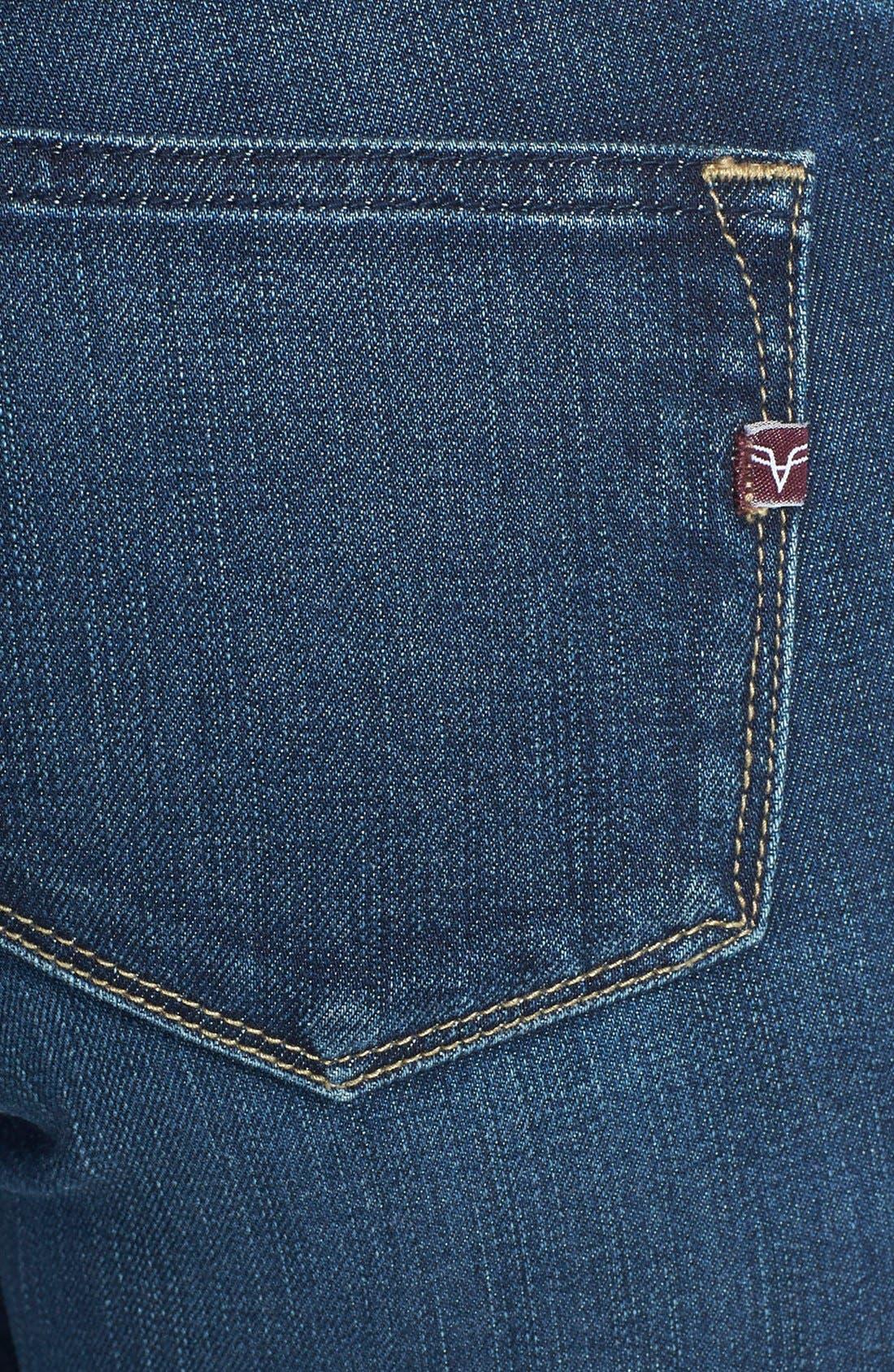 VIGOSS, Skinny Jeans, Alternate thumbnail 3, color, 400