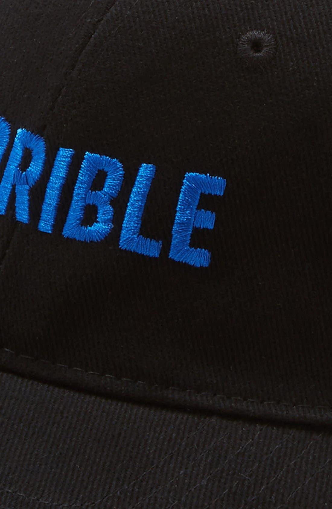 TERRIBLE RECORDS, 'Terrible' Snapback Cap, Alternate thumbnail 2, color, 400