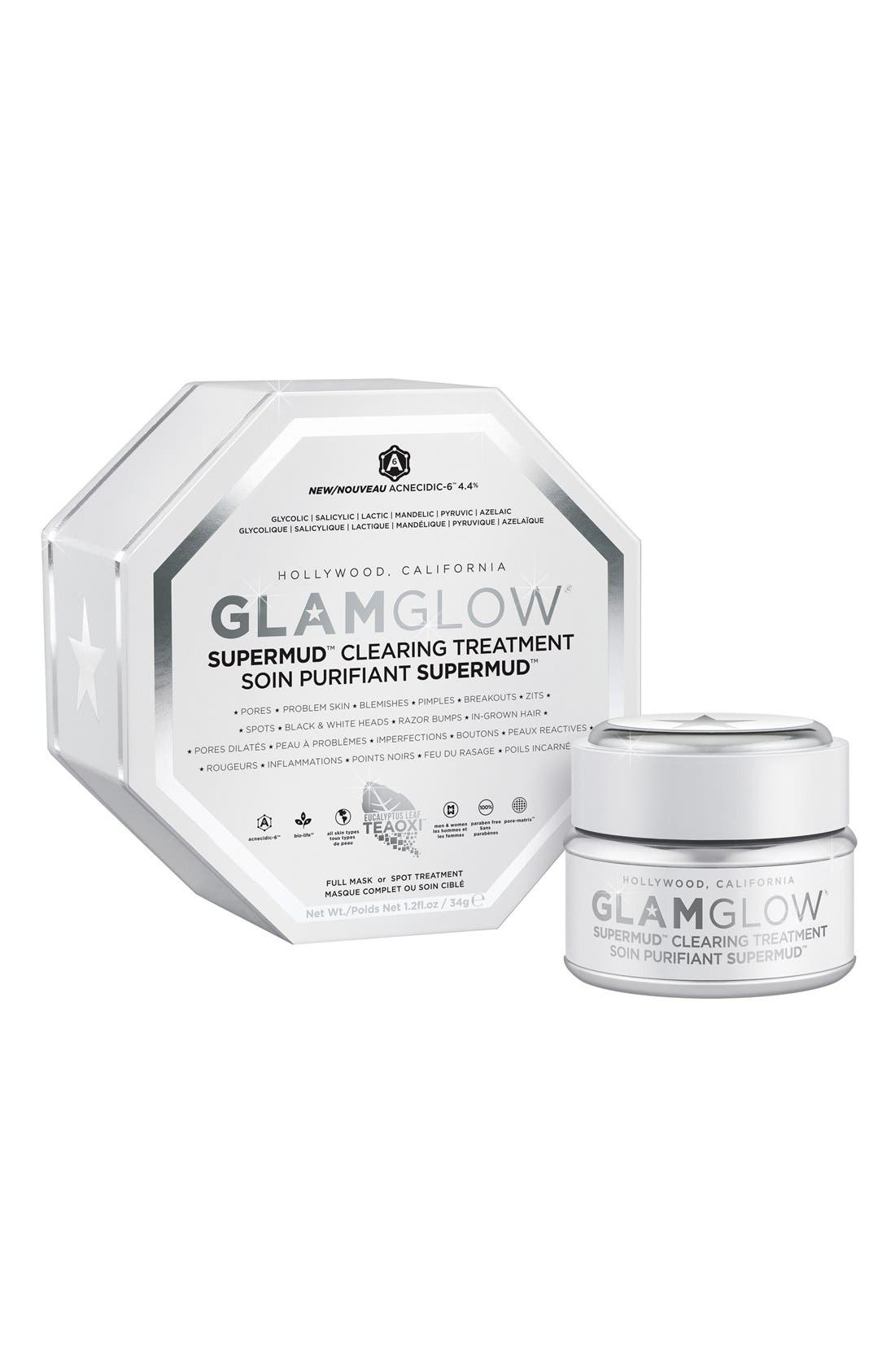 GLAMGLOW<SUP>®</SUP>, 'SUPERMUD<sup>™</sup>' Clearing Treatment, Alternate thumbnail 3, color, 000