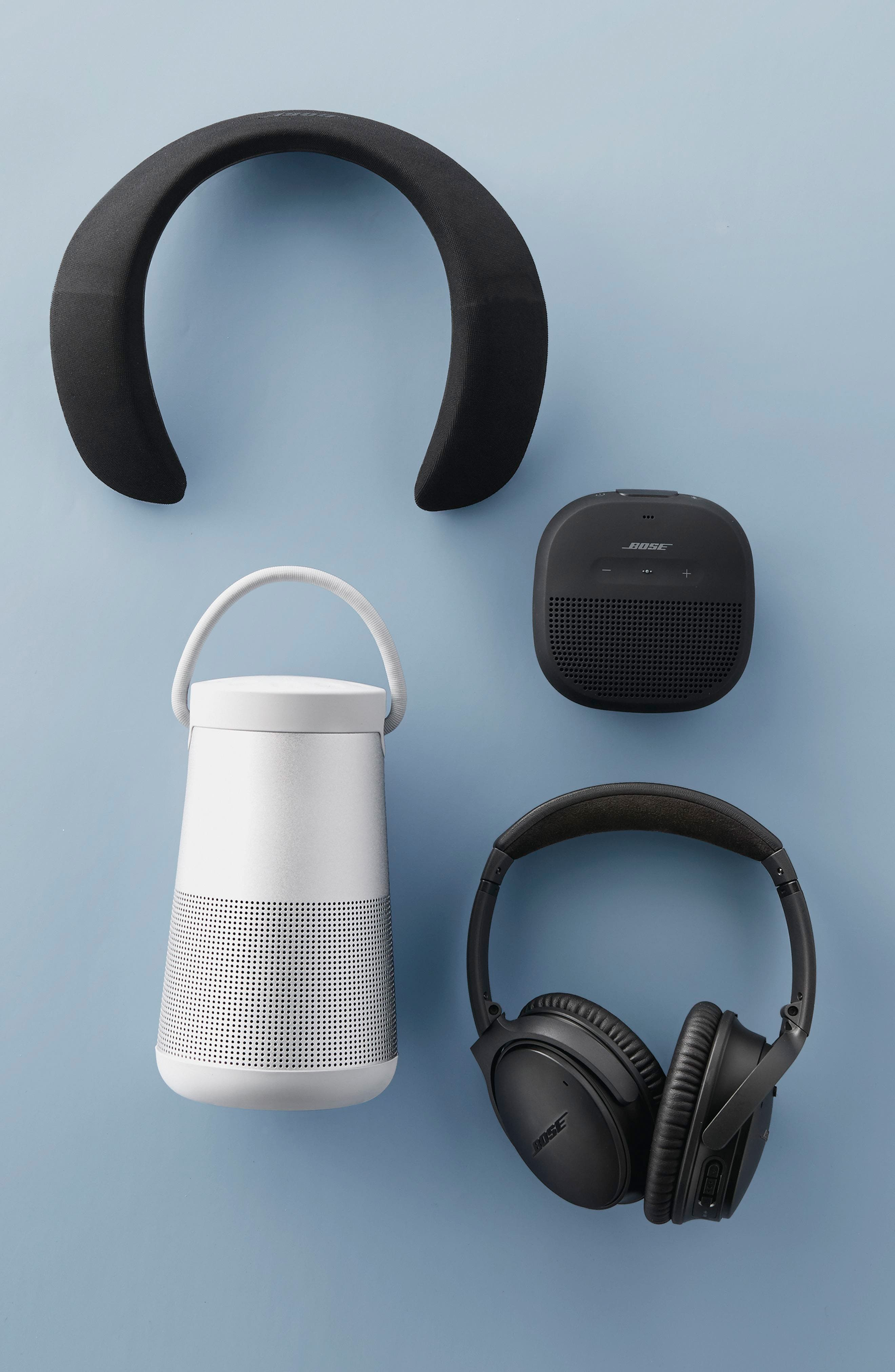 BOSE<SUP>®</SUP>, QuietComfort<sup>®</sup> 35 Wireless Headphones II with Google Assistant, Alternate thumbnail 7, color, BLACK