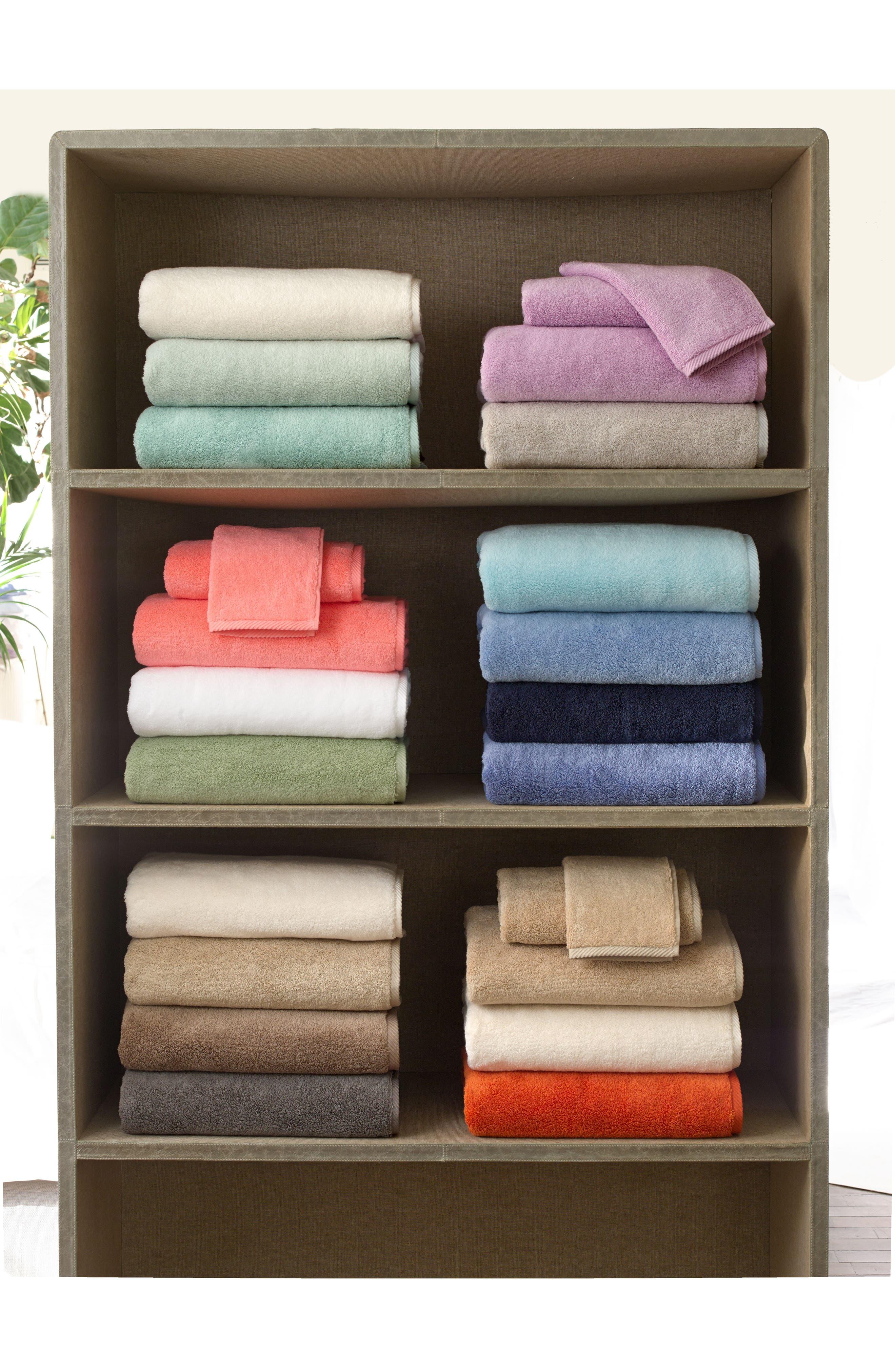 MATOUK, Milagro Bath Towel, Alternate thumbnail 3, color, PERIWINKLE