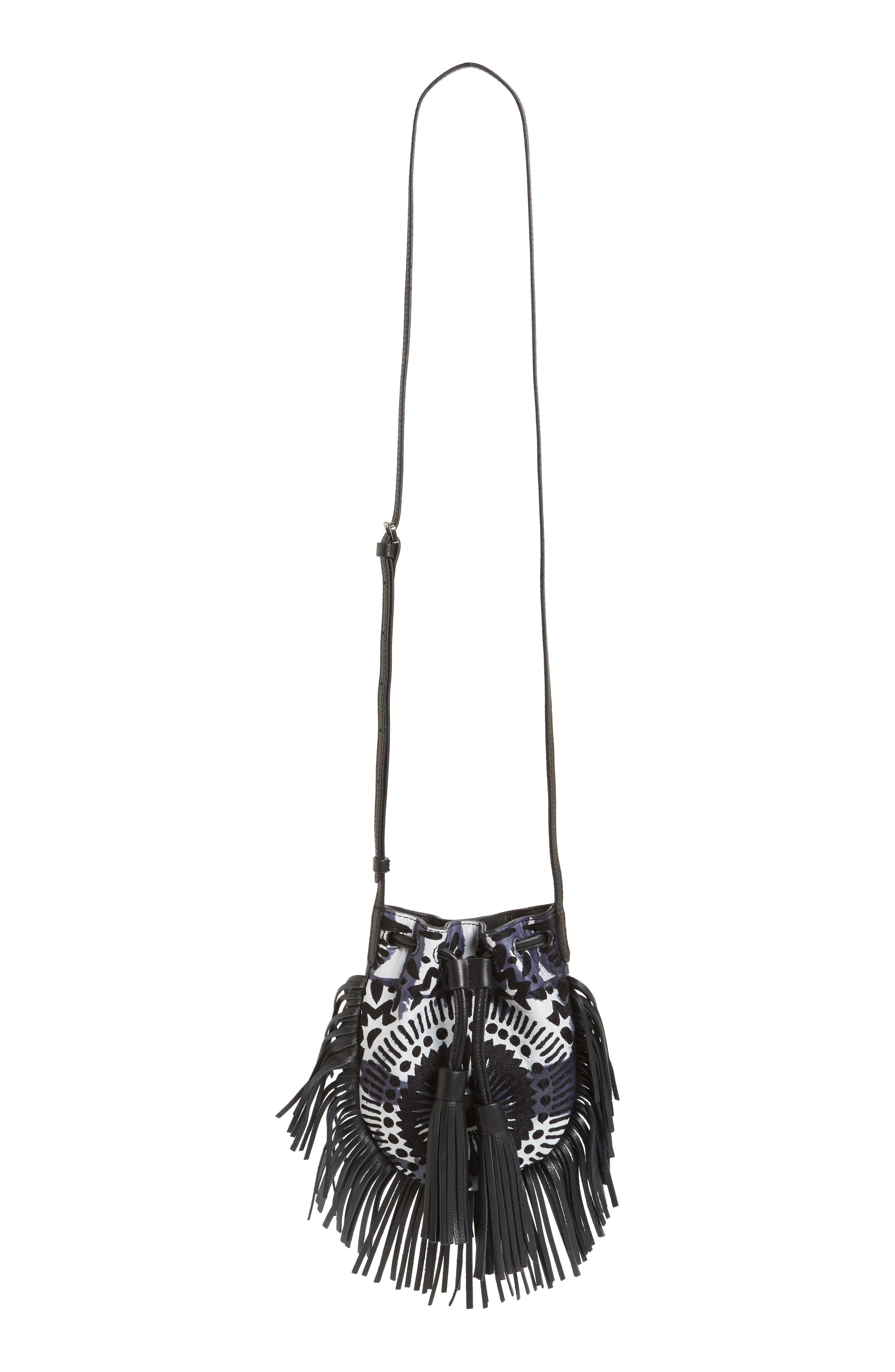 REBECCA MINKOFF, Revel Phone Crossbody Bag, Main thumbnail 1, color, 001