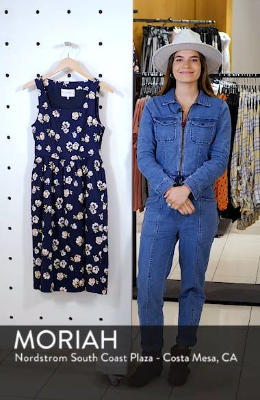 Sleeveless Fit & Flare Dress, sales video thumbnail