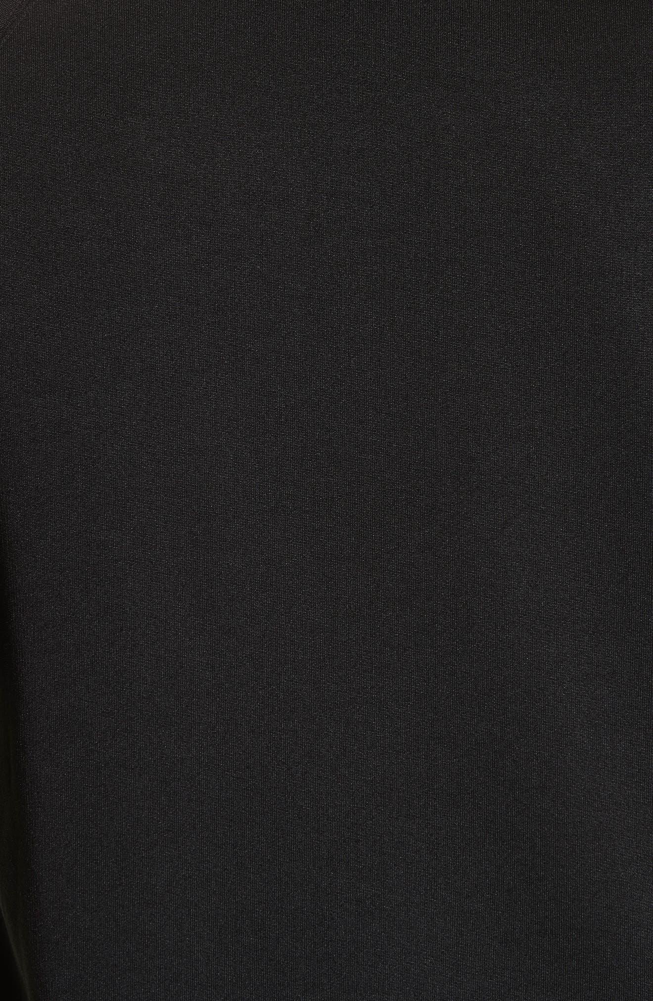 VERSACE COLLECTION, Medusa Print Sweatshirt, Alternate thumbnail 5, color, BLACK/ PAINT