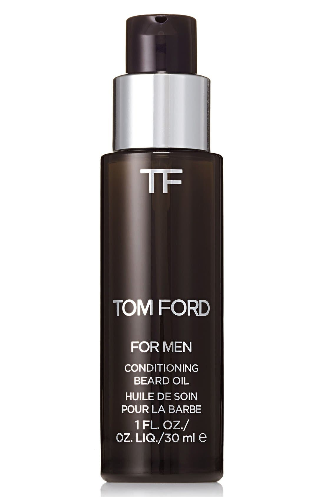TOM FORD, Conditioning Beard Oil, Main thumbnail 1, color, OUD WOOD