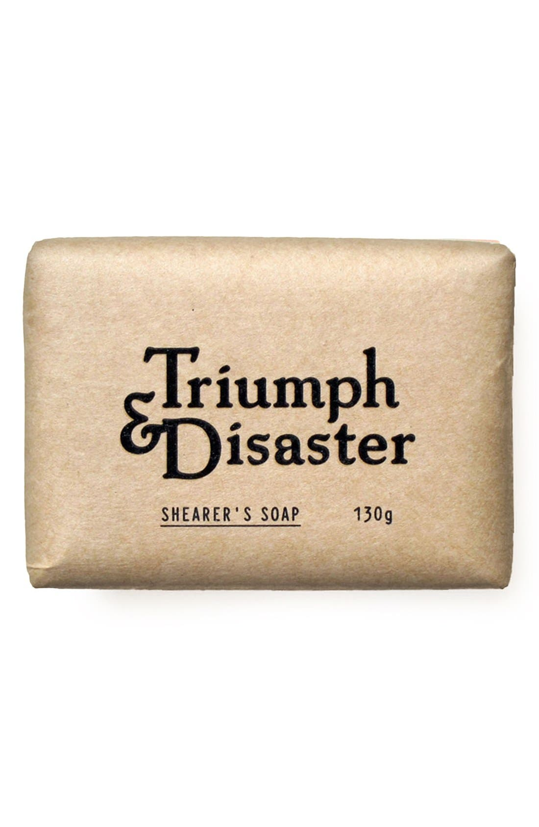 TRIUMPH & DISASTER, Shearer's Soap, Main thumbnail 1, color, 000