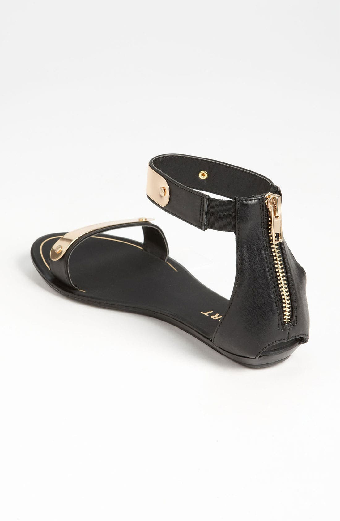 REPORT SIGNATURE, REPORT Metal Bar Sandal, Alternate thumbnail 3, color, 001