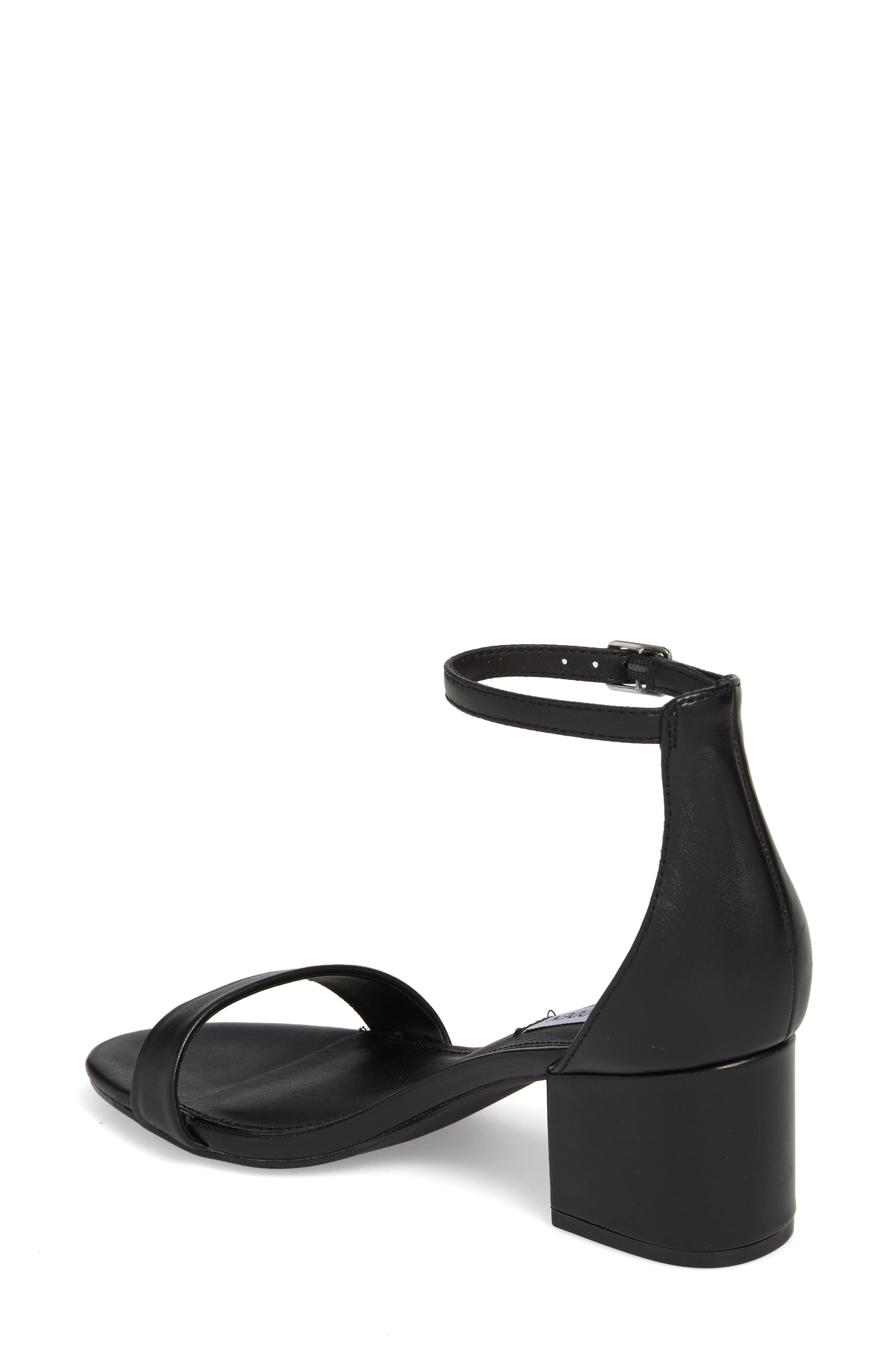 STEVE MADDEN, Irenee Ankle Strap Sandal, Alternate thumbnail 2, color, 001