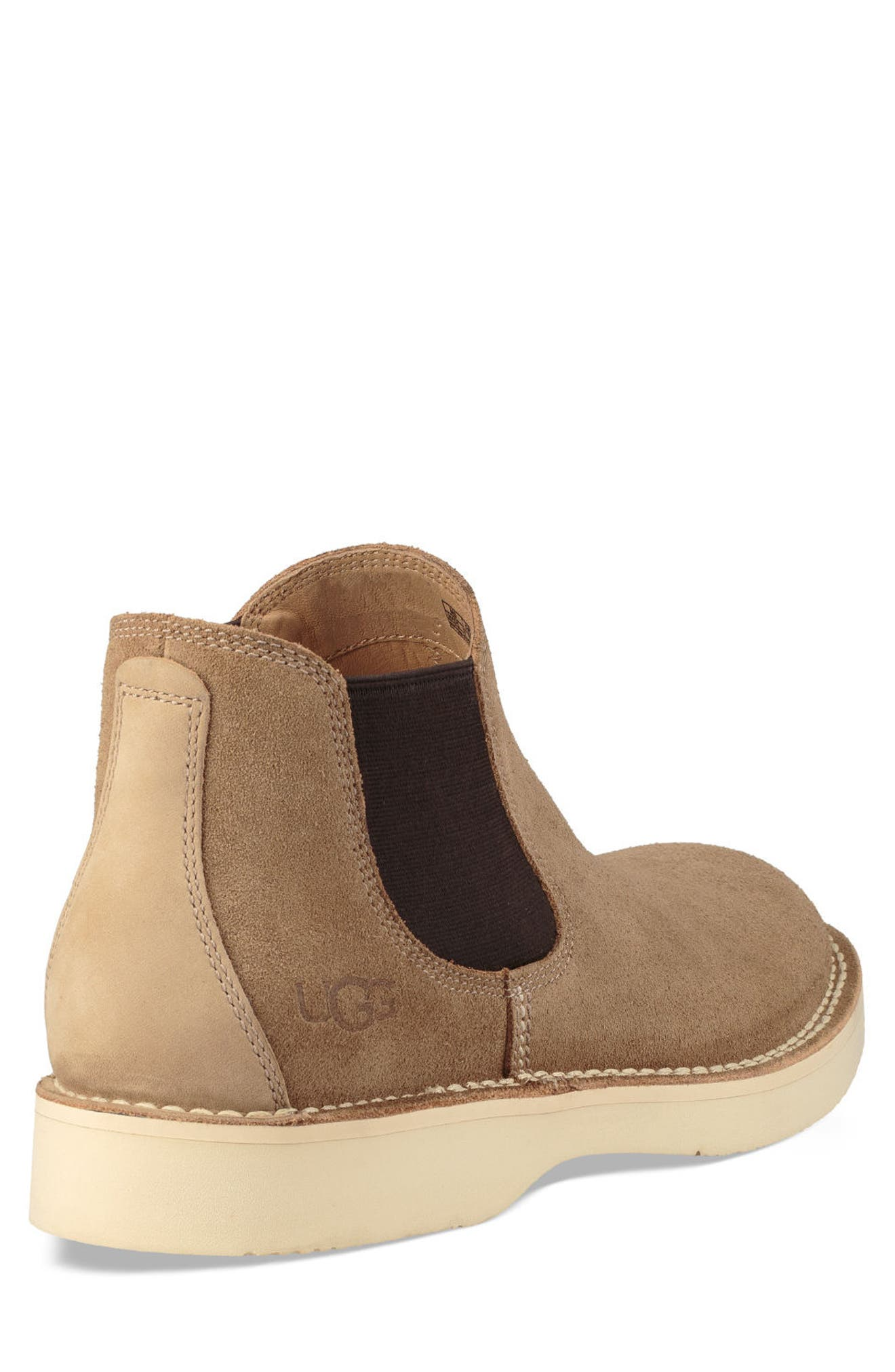 UGG<SUP>®</SUP>, Camino Chelsea Boot, Alternate thumbnail 2, color, DESERT TAN