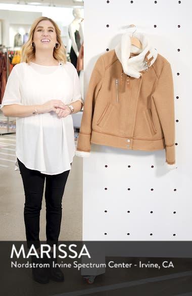 Brushed Melton Wool Blend Jacket, sales video thumbnail