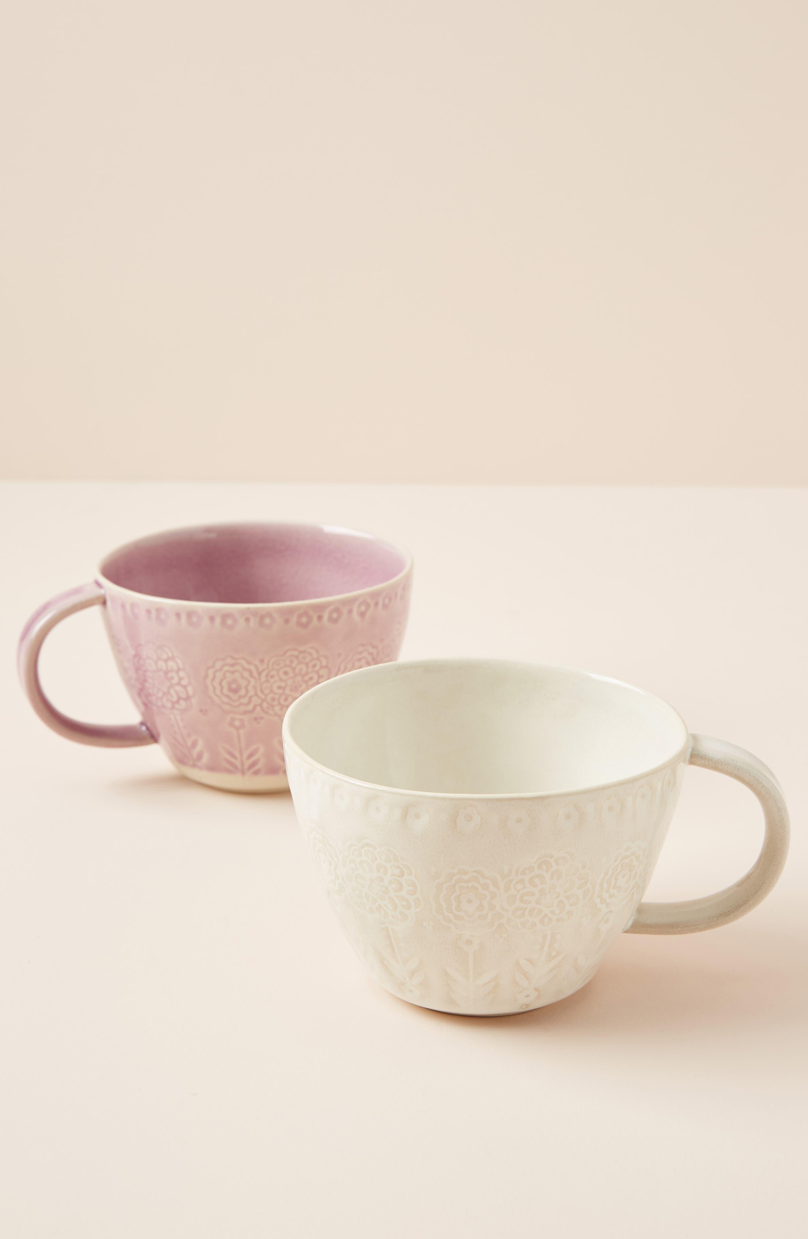 ANTHROPOLOGIE Veru Mug, Main, color, WHITE