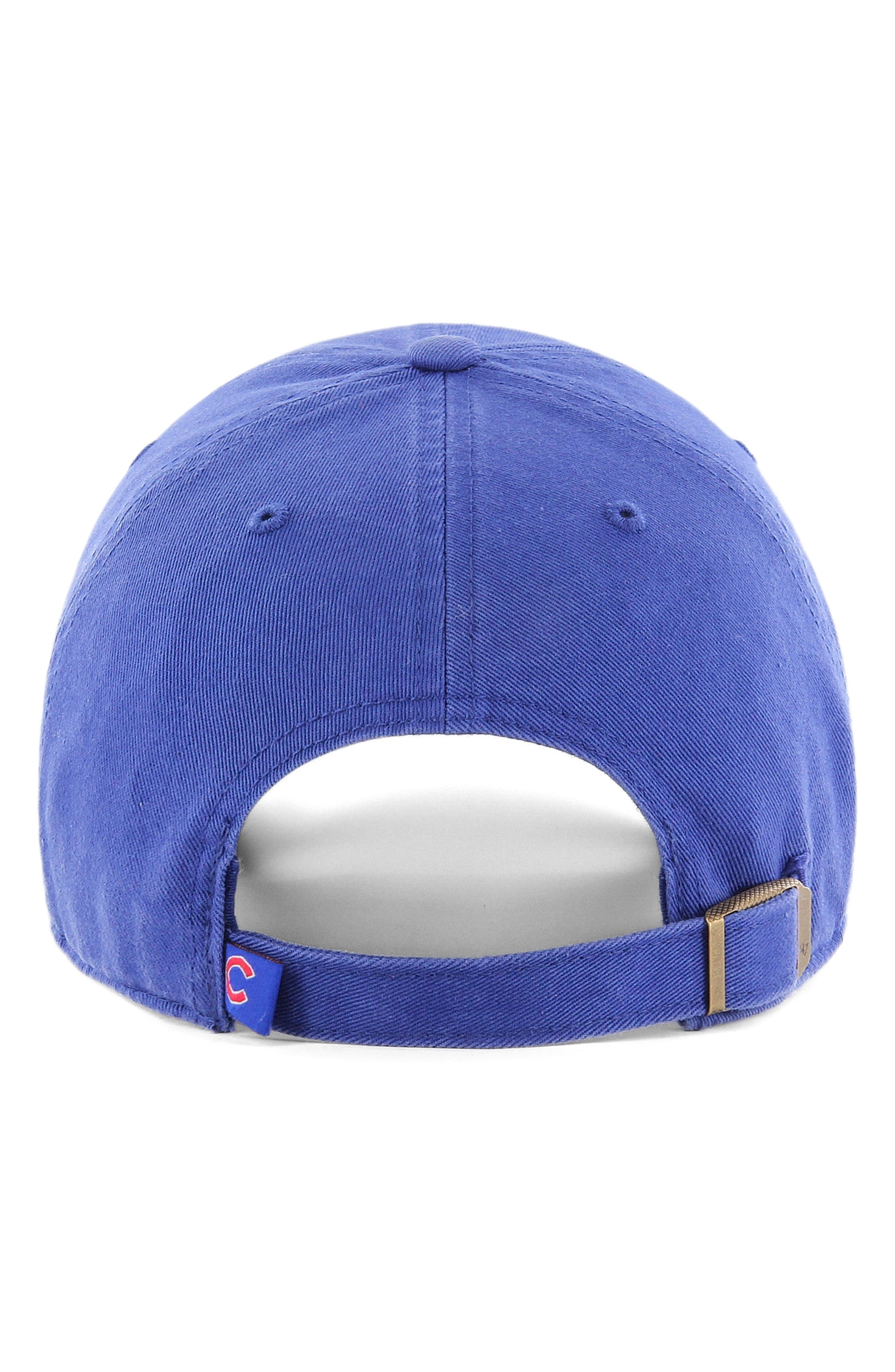 '47, Clean Up - MLB Ball Cap, Alternate thumbnail 2, color, CHICAGO CUBS