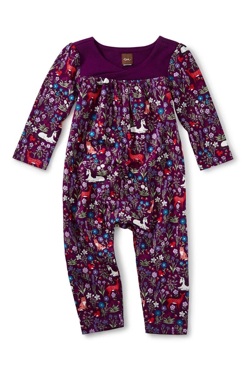 df657e992 Tea Collection Woodland Corduroy Romper (Baby Girls) | Nordstrom