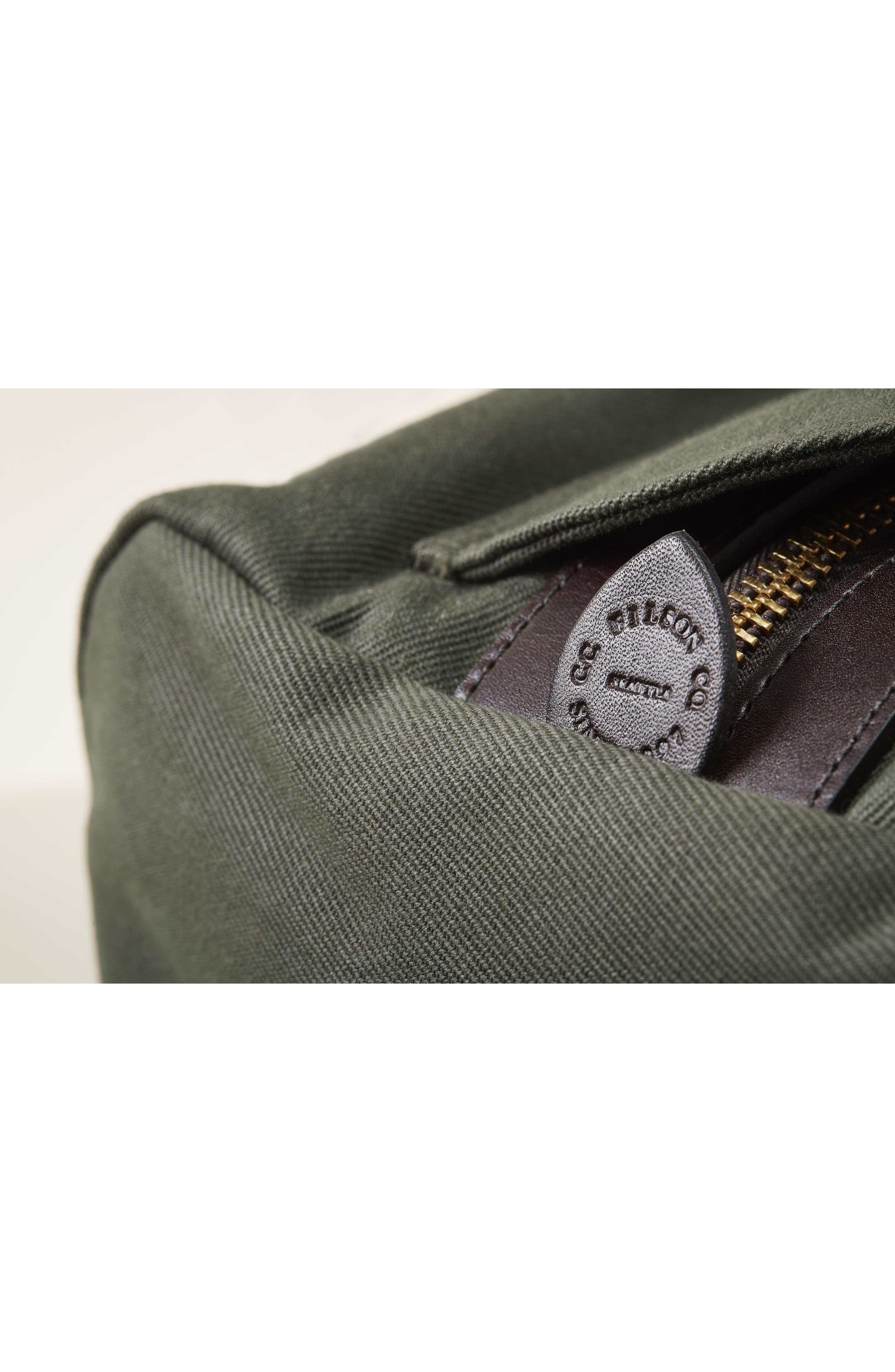 FILSON, Medium Duffle Bag, Alternate thumbnail 13, color, CINDER