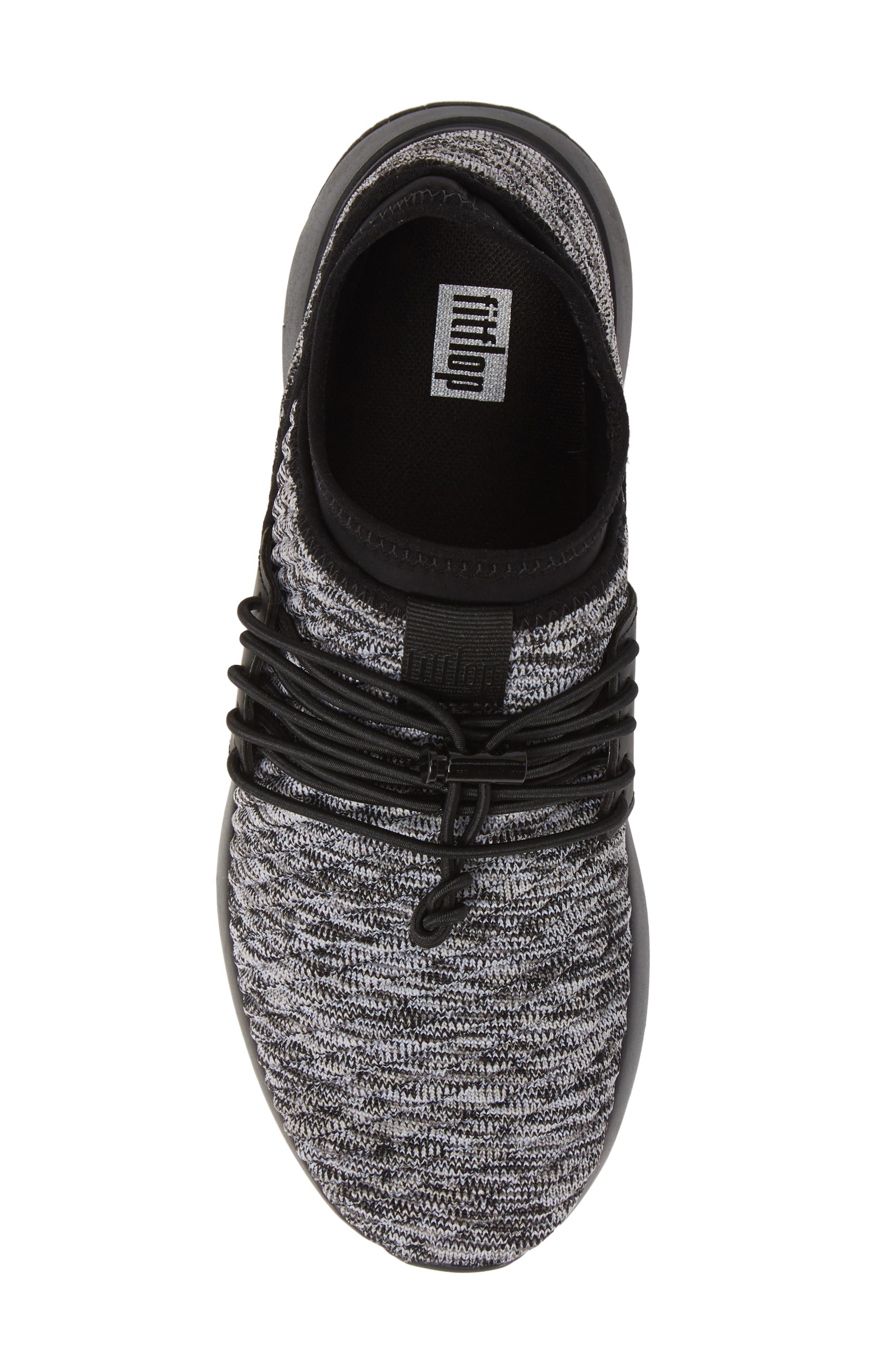 FITFLOP, Artknit Sock Sneaker, Alternate thumbnail 5, color, 017
