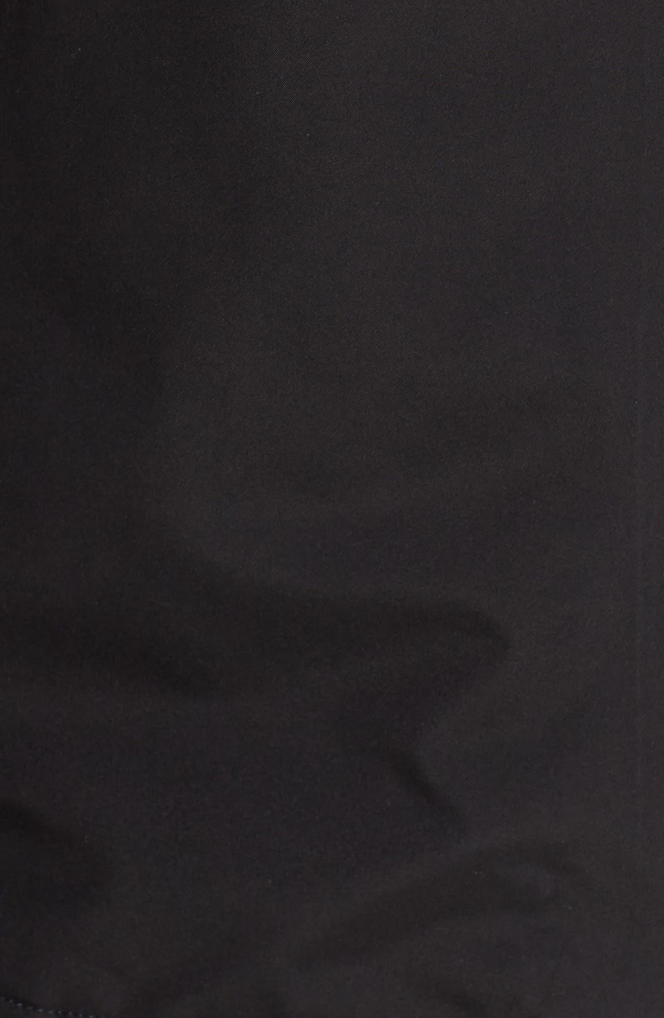 THE NORTH FACE, Dryzzle Hooded Rain Jacket, Alternate thumbnail 7, color, TNF BLACK