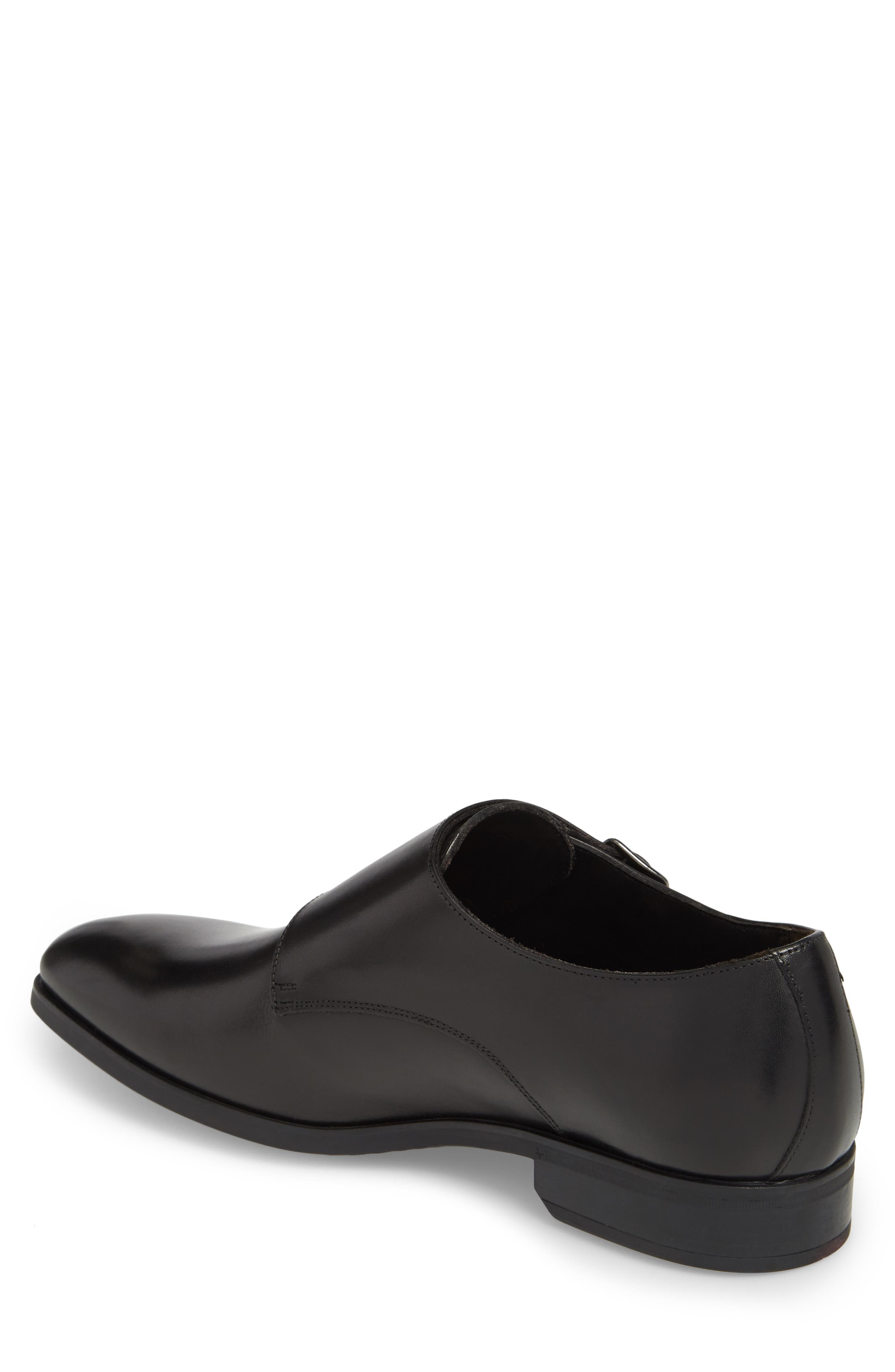 TO BOOT NEW YORK, Benjamin Double Monk Strap Shoe, Alternate thumbnail 2, color, 002