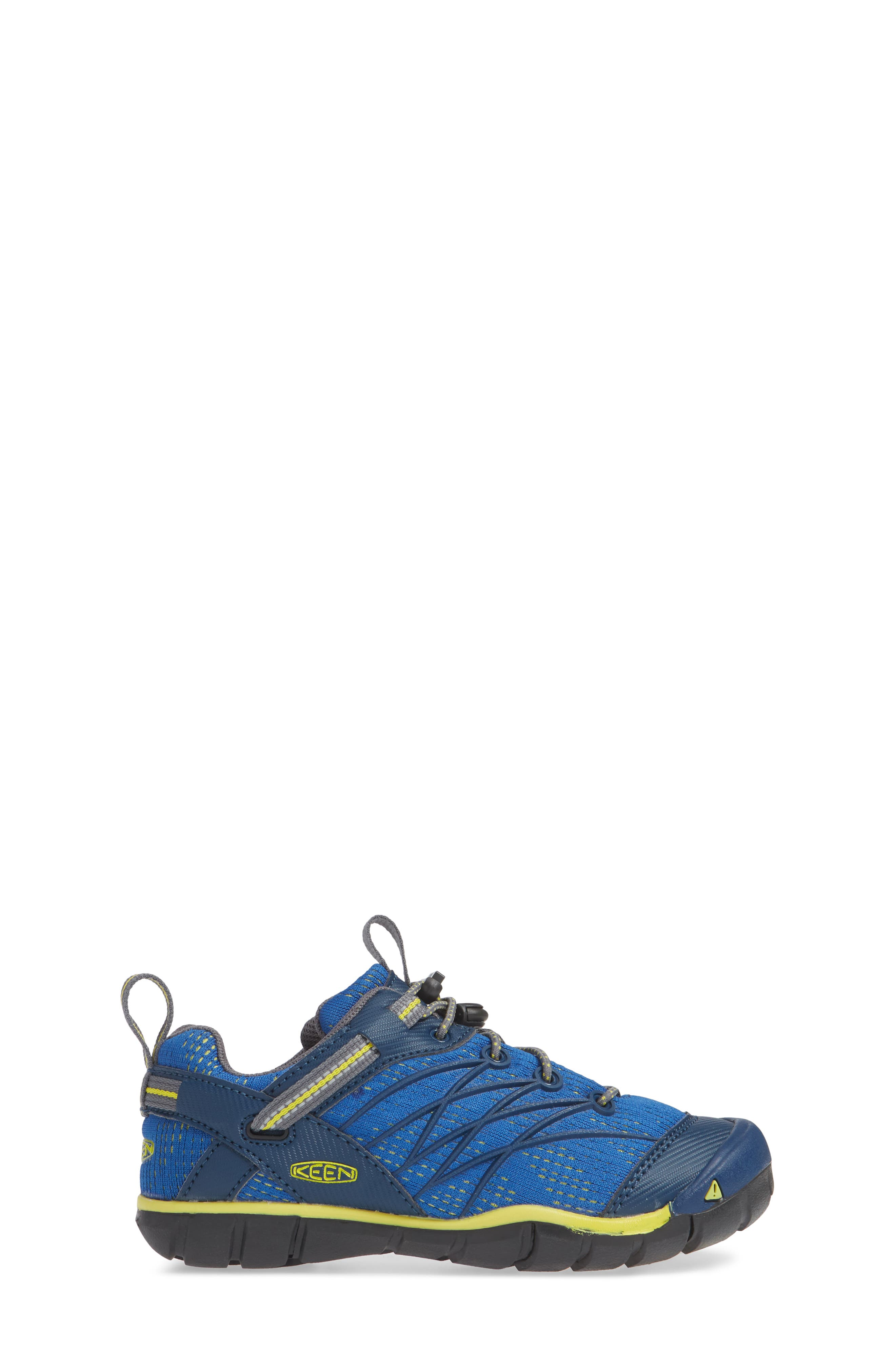KEEN, 'Chandler CNX' Water Friendly Sneaker, Alternate thumbnail 3, color, BLUE OPAL/ BLUE