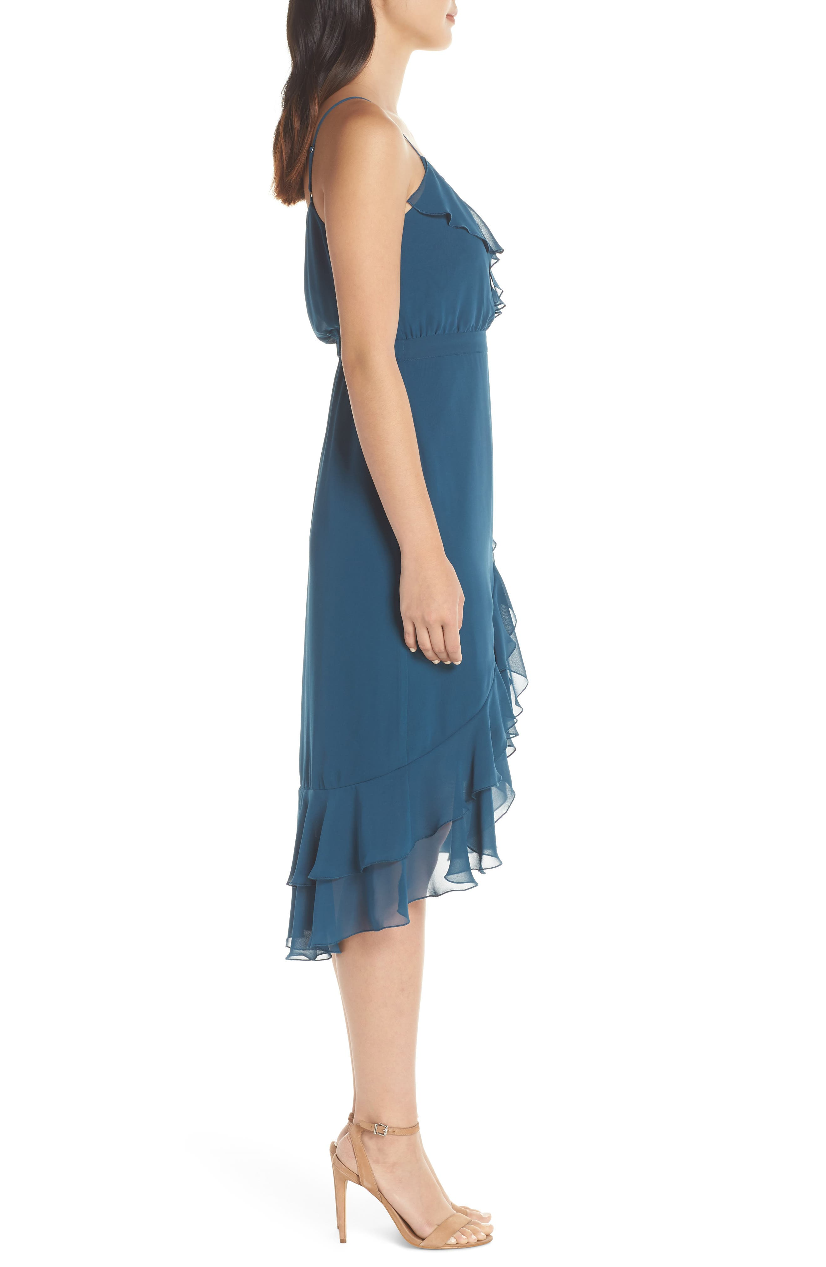 ALI & JAY, Pretty Lady High/Low Dress, Alternate thumbnail 4, color, 400