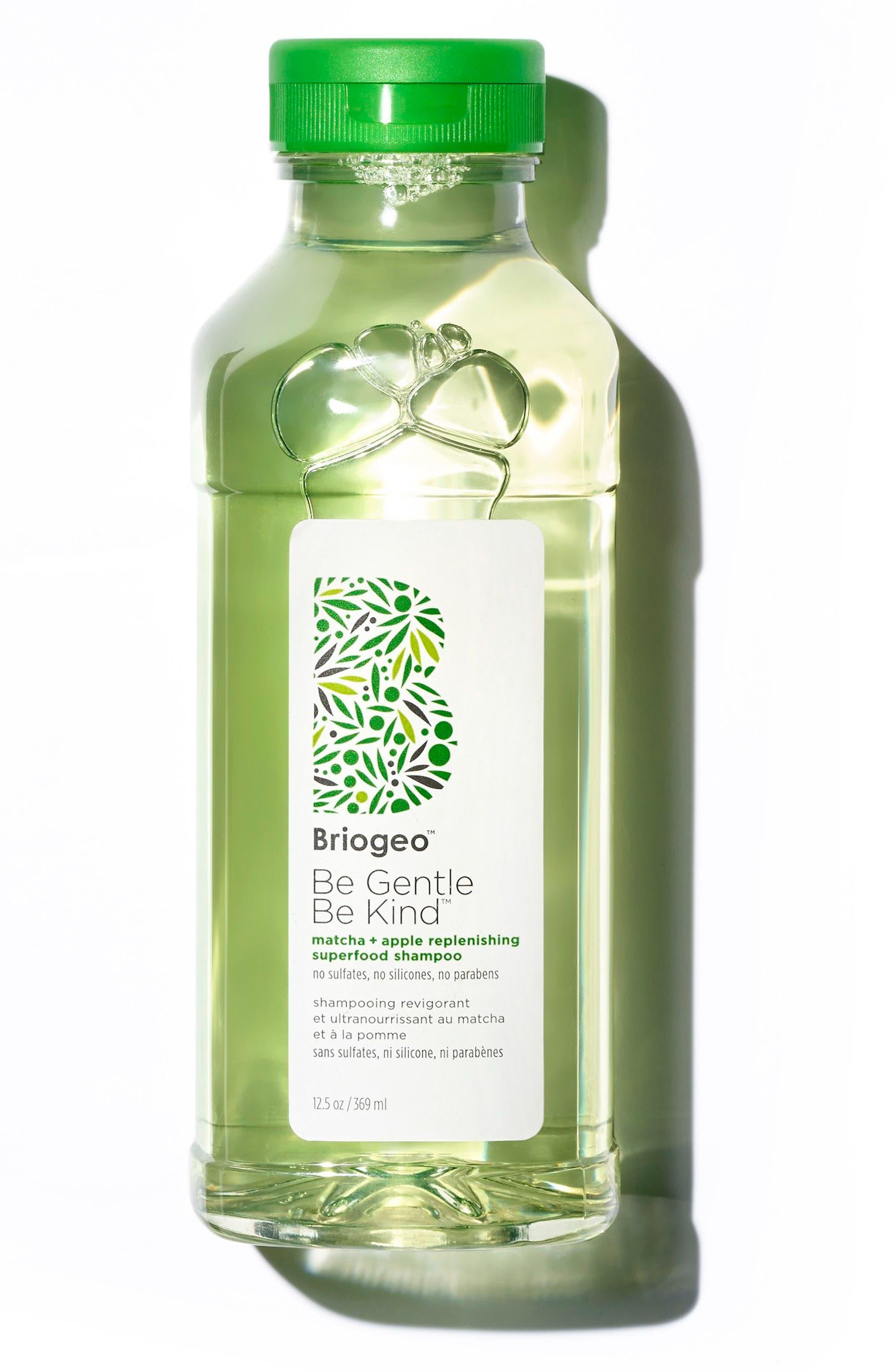 BRIOGEO, Be Gentle, Be Kind Matcha + Apple Replenishing Superfood Shampoo, Main thumbnail 1, color, NO COLOR