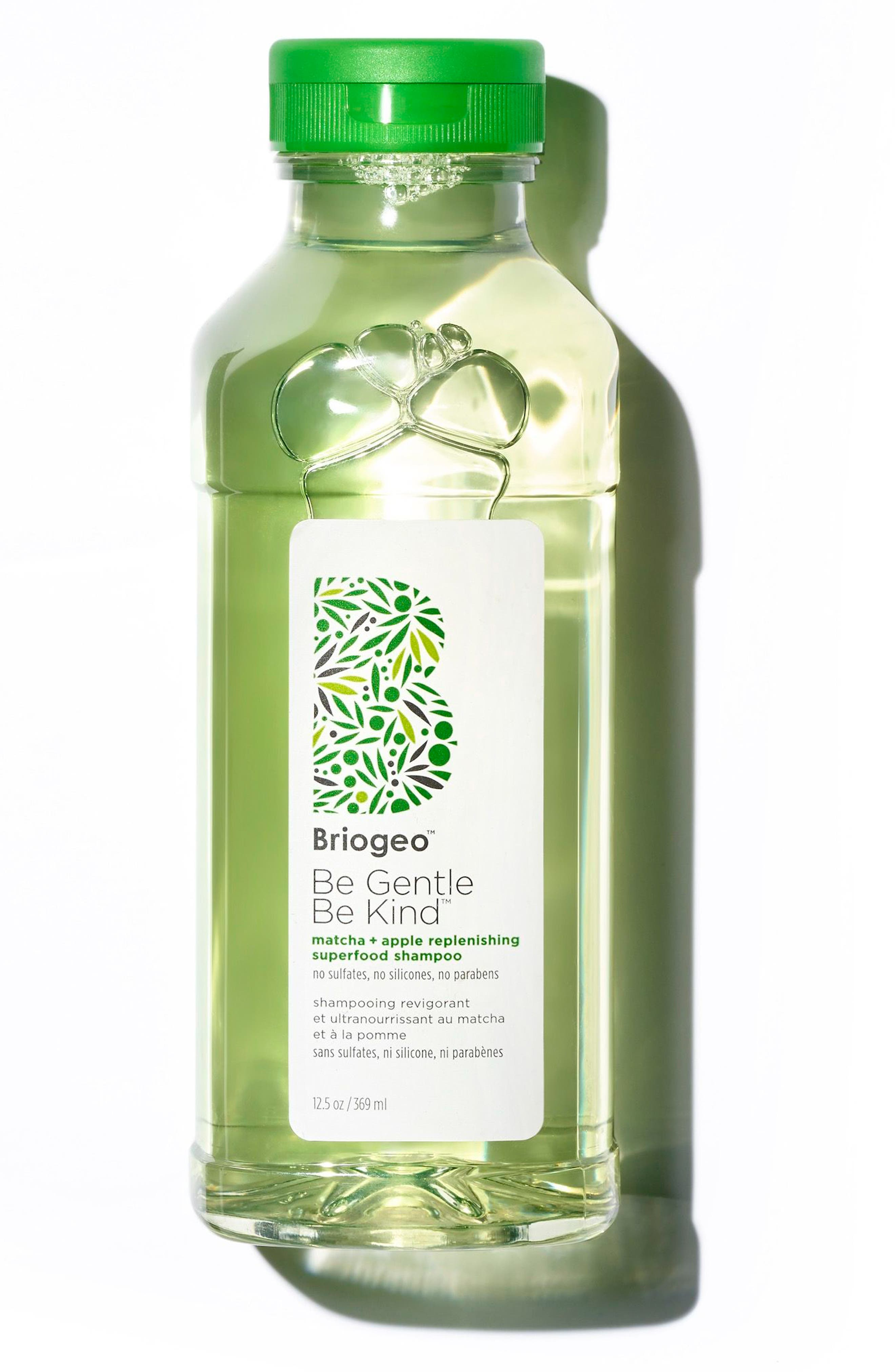 BRIOGEO Be Gentle, Be Kind Matcha + Apple Replenishing Superfood Shampoo, Main, color, NO COLOR