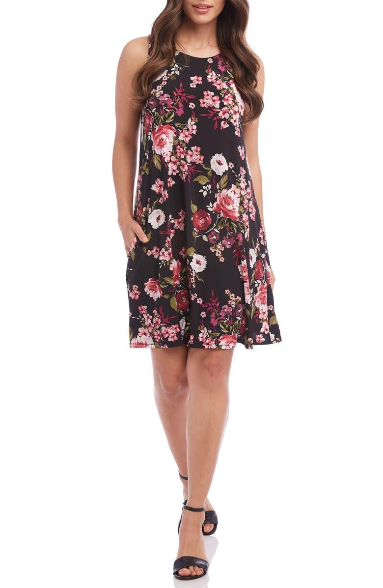 Karen Kane Dresses CHLOE PRINT SHIFT DRESS