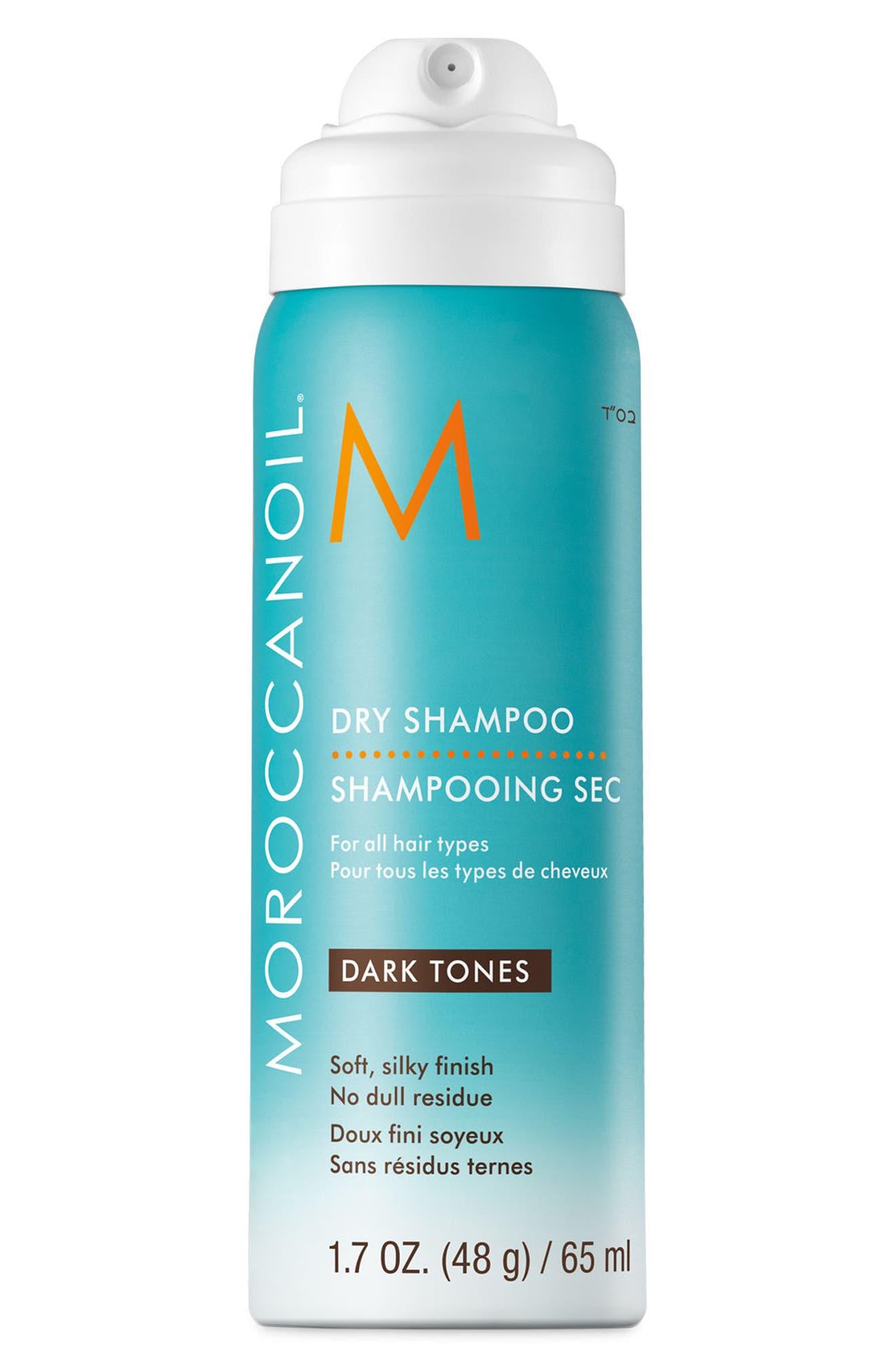 MOROCCANOIL<SUP>®</SUP>, Dry Shampoo, Main thumbnail 1, color, DARK