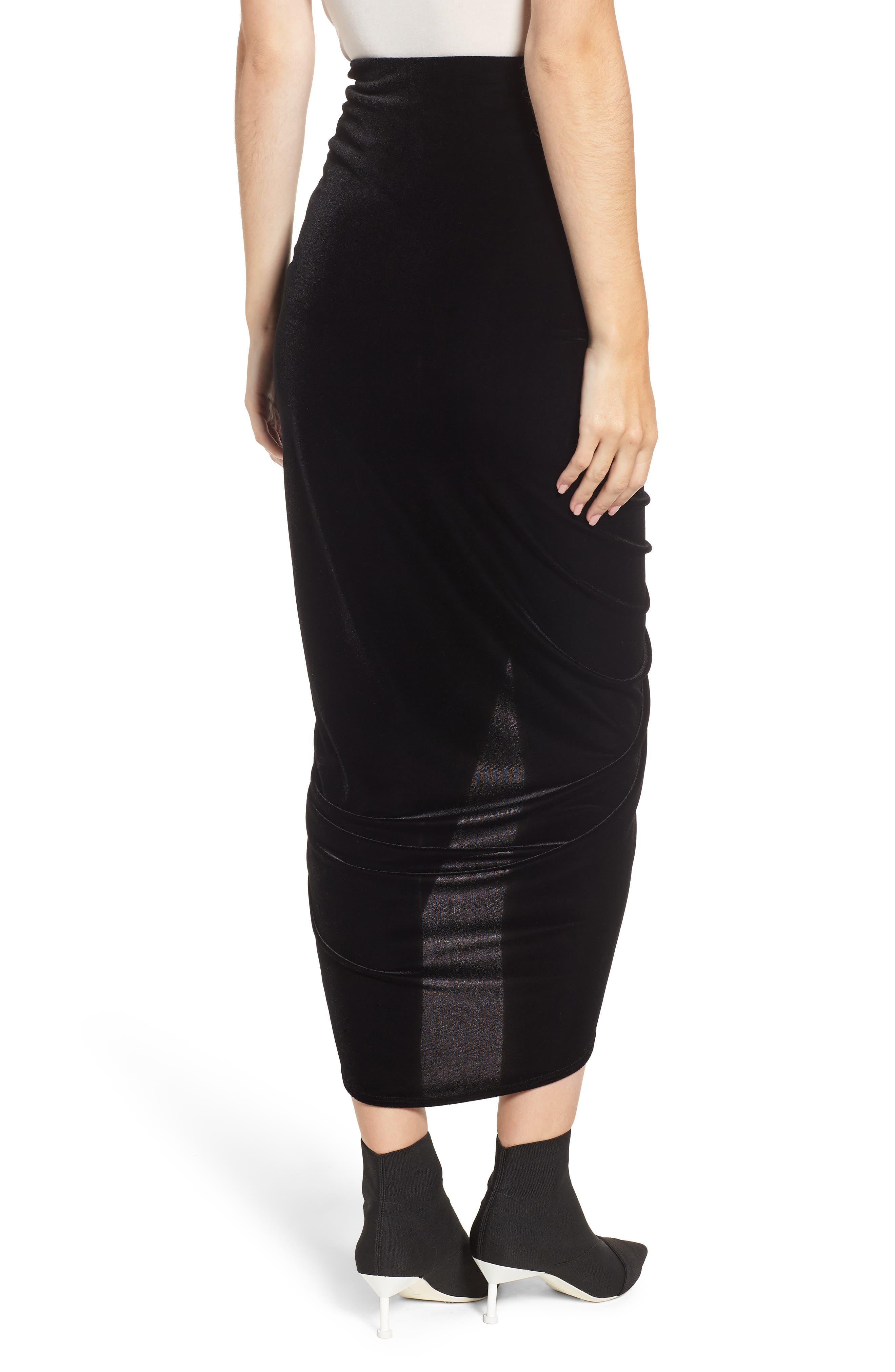 BAILEY 44, Any Seven Skirt, Alternate thumbnail 2, color, 001