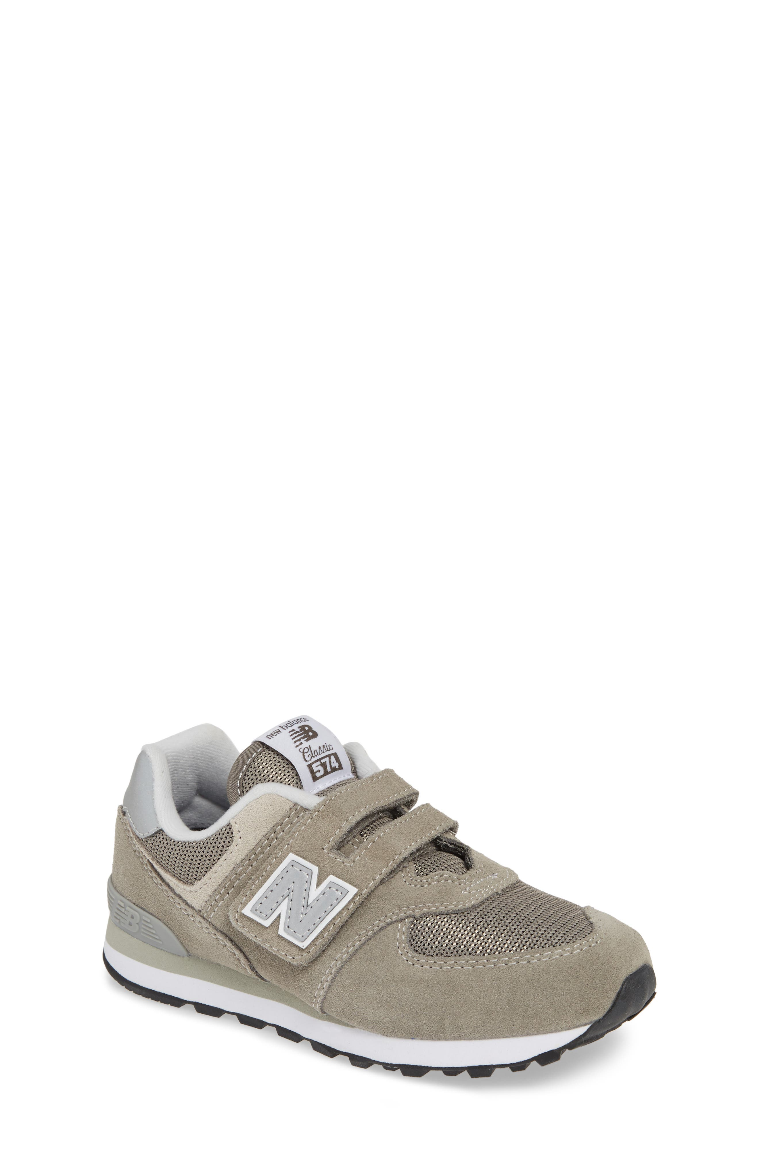 NEW BALANCE, 574 Retro Surf Sneaker, Main thumbnail 1, color, GREY